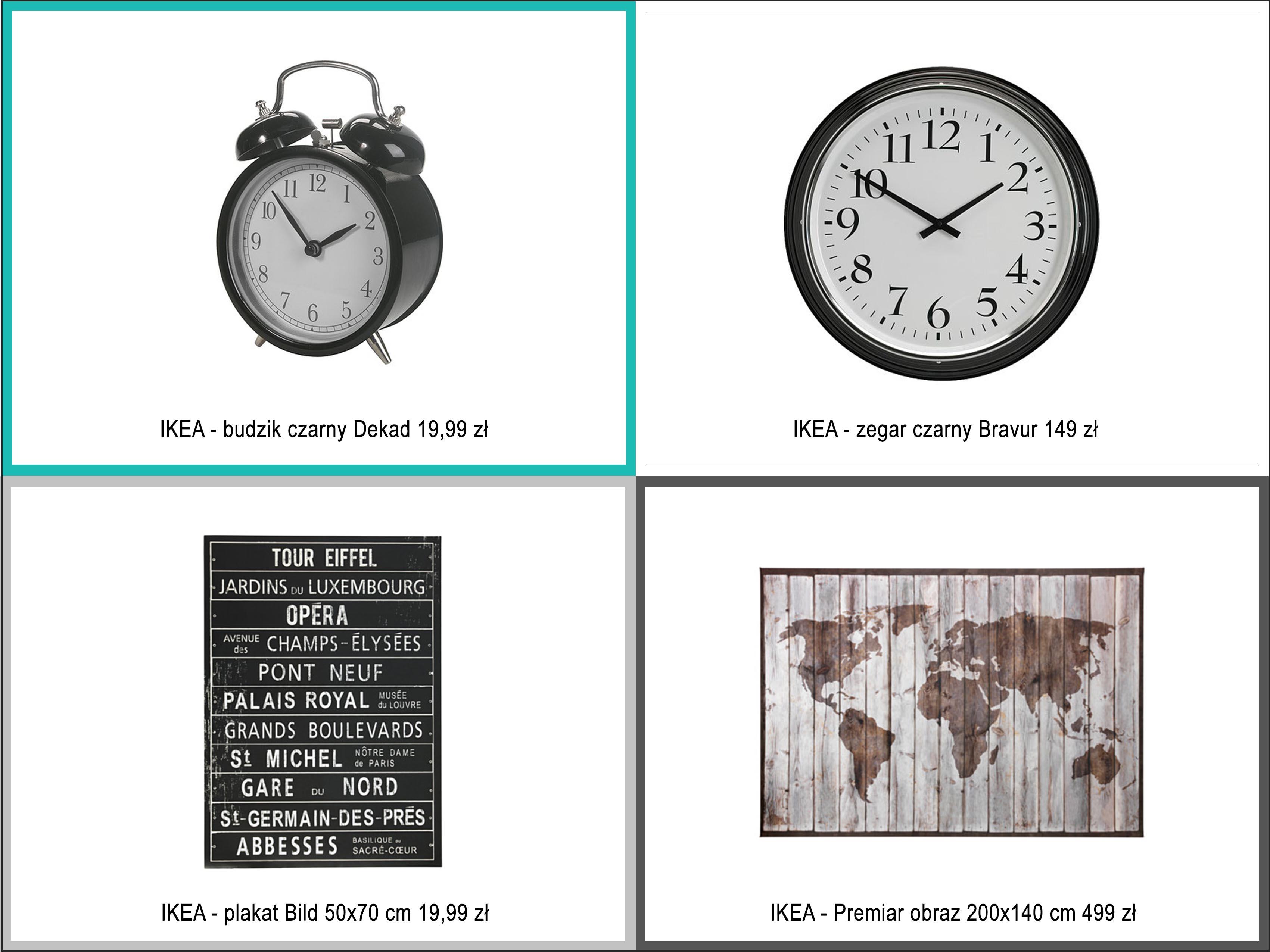grafiki i zegary