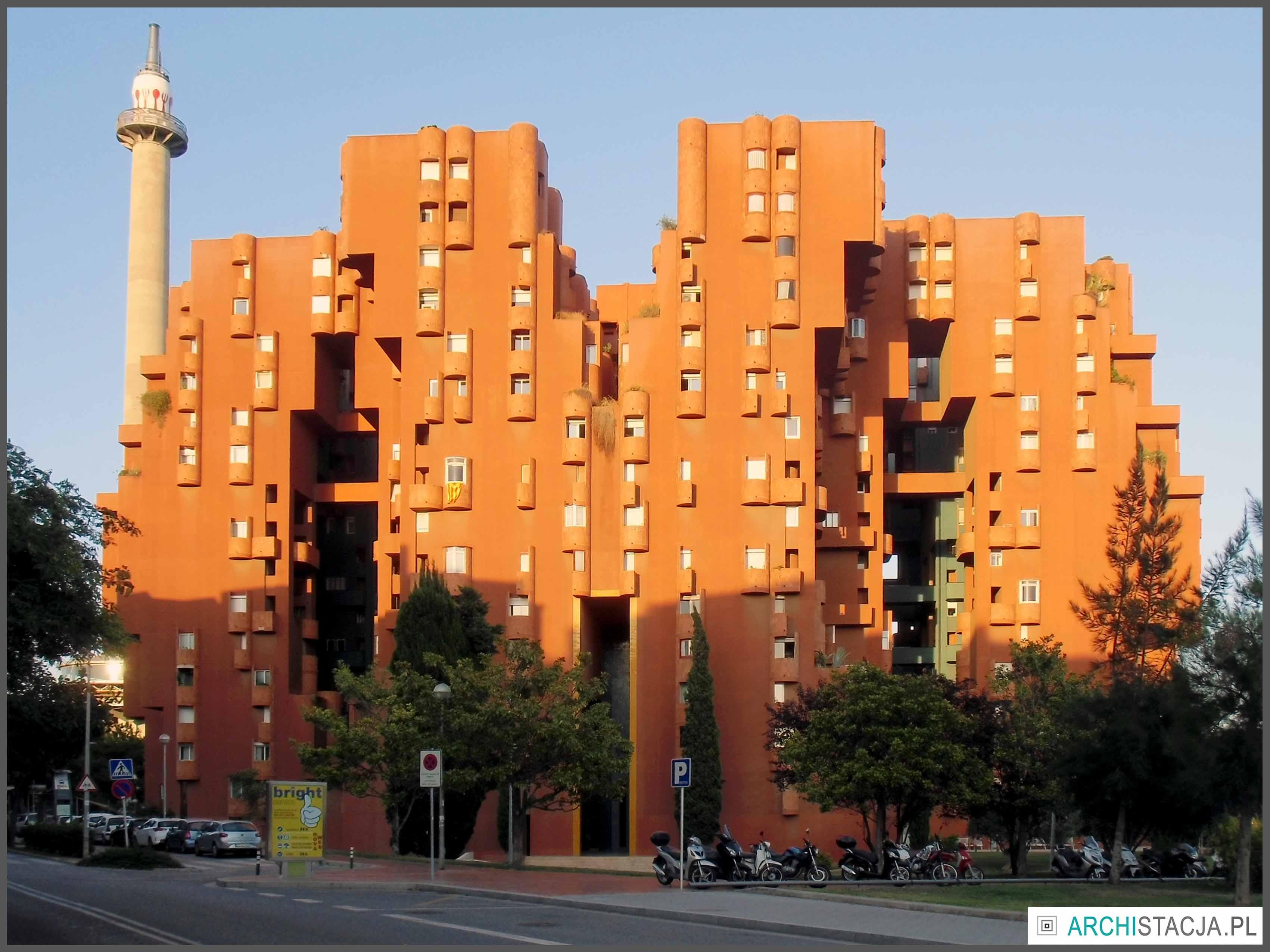 pomarańczowy blok