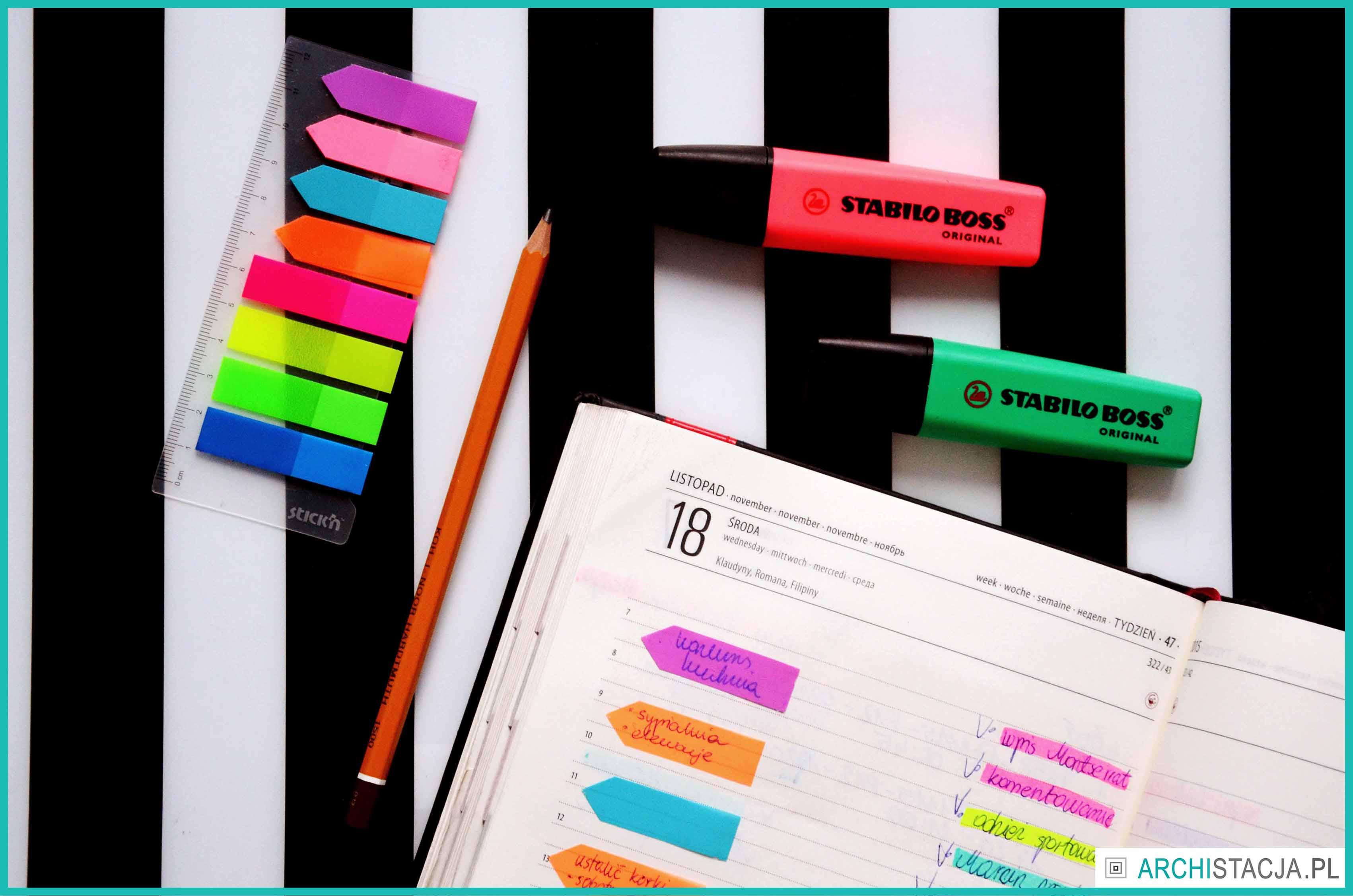 ZORGANIZUJ SIĘ – jak uzupełniać swój organizer?