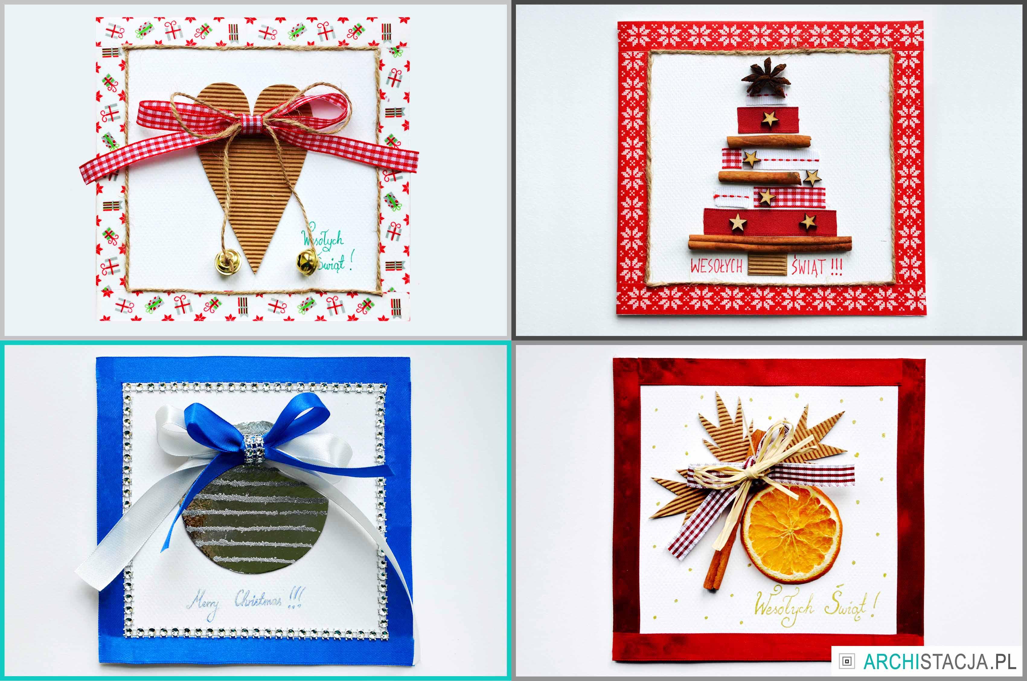 ŚWIĄTECZNA STACJA – kartki DIY + pocztówki do pobrania