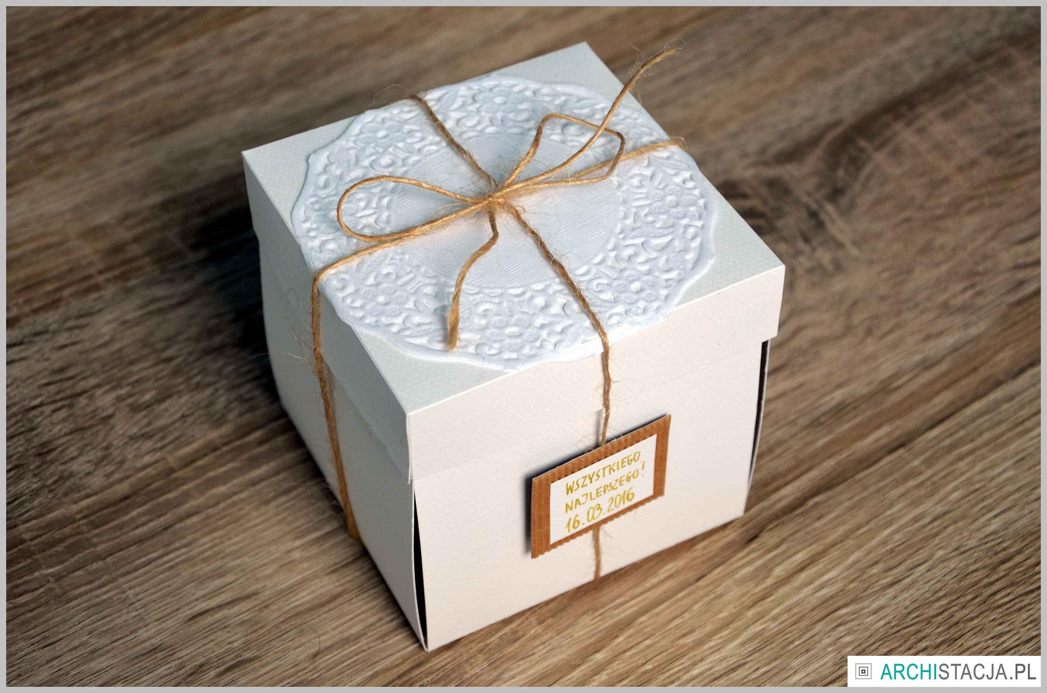 pudełko na urodziny