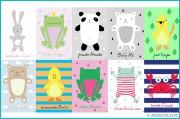 POMYSŁ NA WNĘTRZE – pokój dziecięcy+grafiki do druku