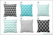 STACJA DEKORACJA – poduszki w geometryczne wzory