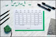ZORGANIZUJ SIĘ – kalendarz na maj DO DRUKU