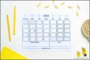 ZORGANIZUJ SIĘ – kalendarz na czerwiec i lista celów DO DRUKU