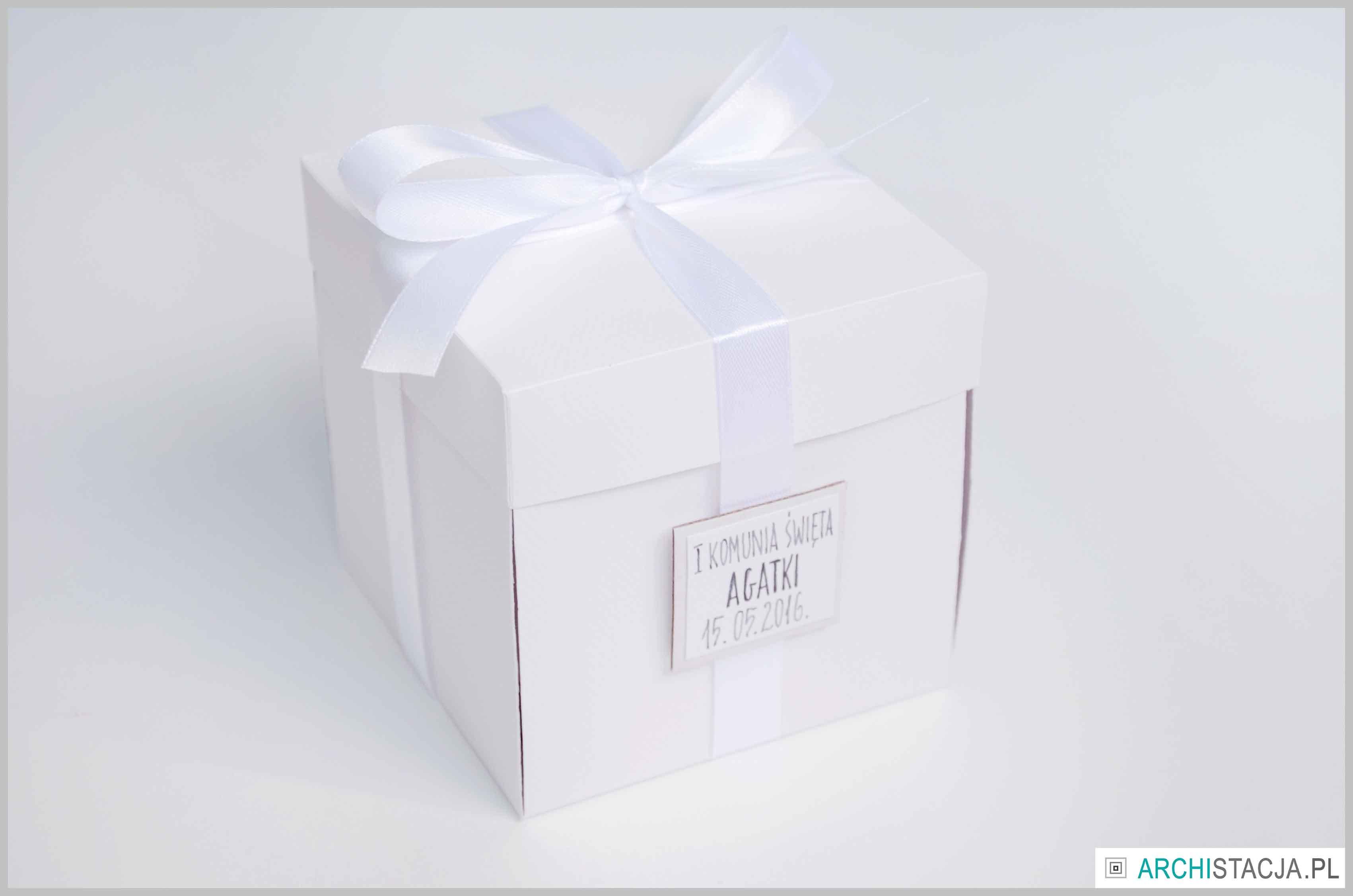 pudełko na komunię