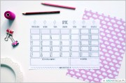 ZORGANIZUJ SIĘ – kalendarz na lipiec DO DRUKU