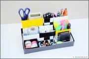 AKCJA ORGANIZACJA – organizer na biurko DIY