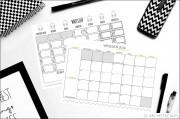 ZORGANIZUJ SIĘ – kalendarz na wrzesień DWIE WERSJE