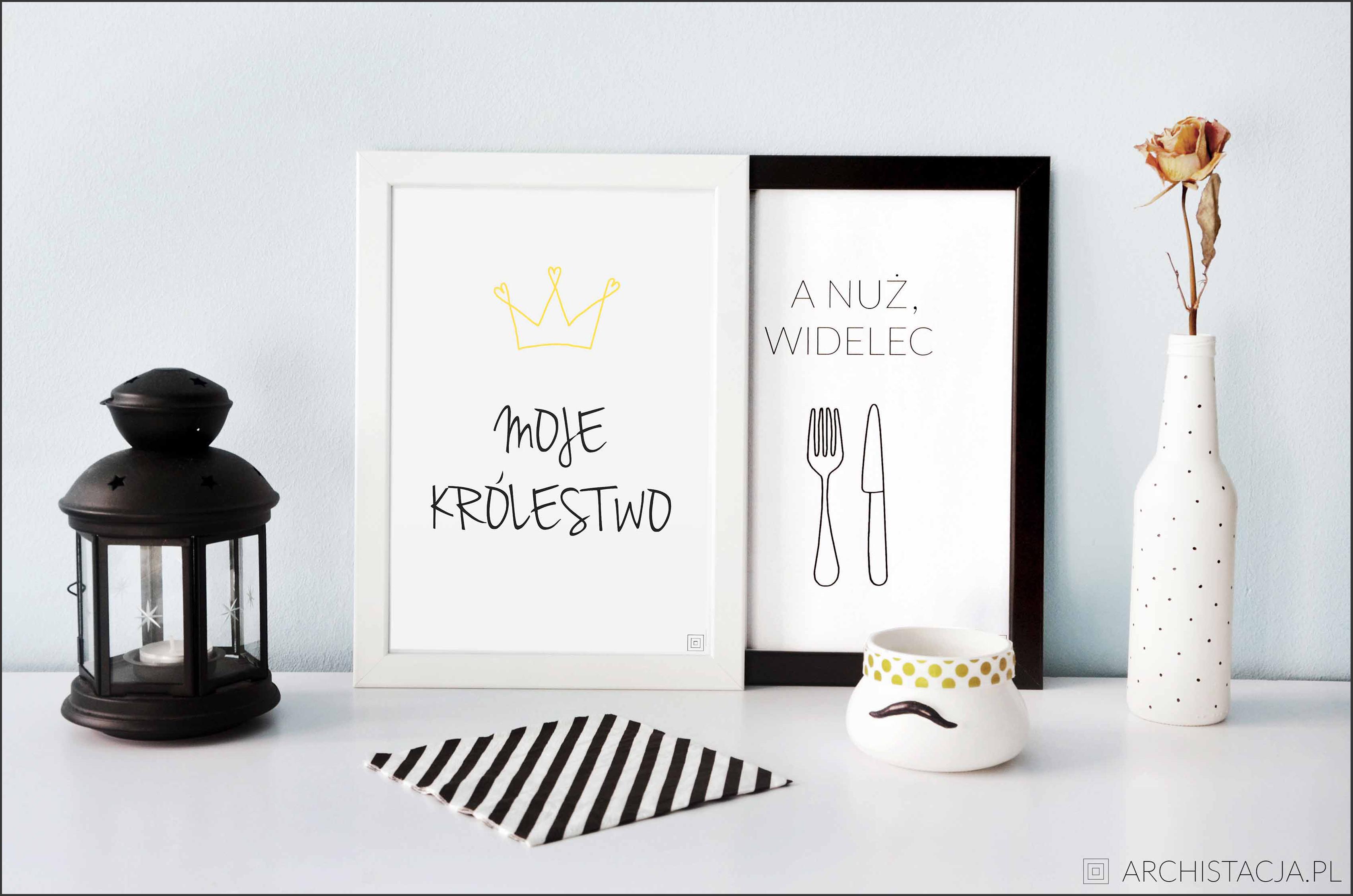 Plakaty Do Kuchni Do Druku Archistacjapl