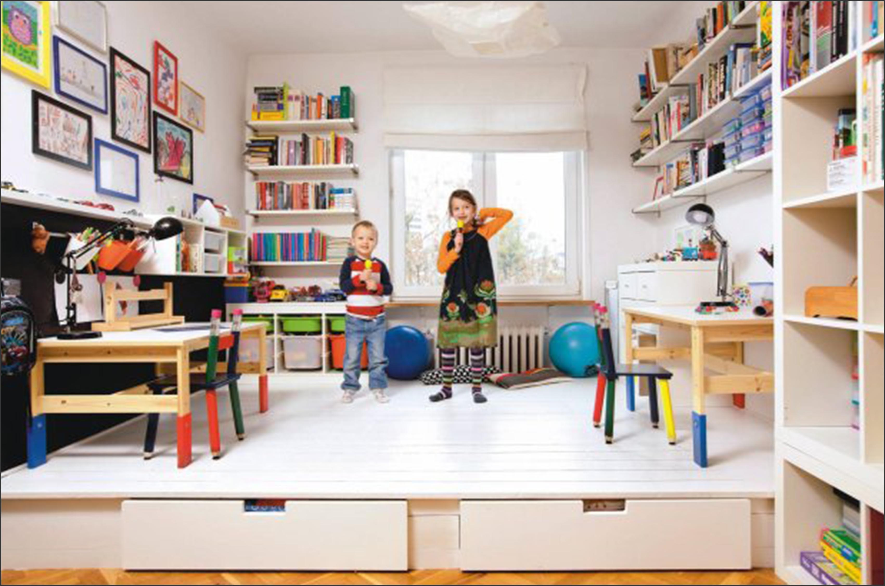 metamorfoza pokoju rodzeństwa