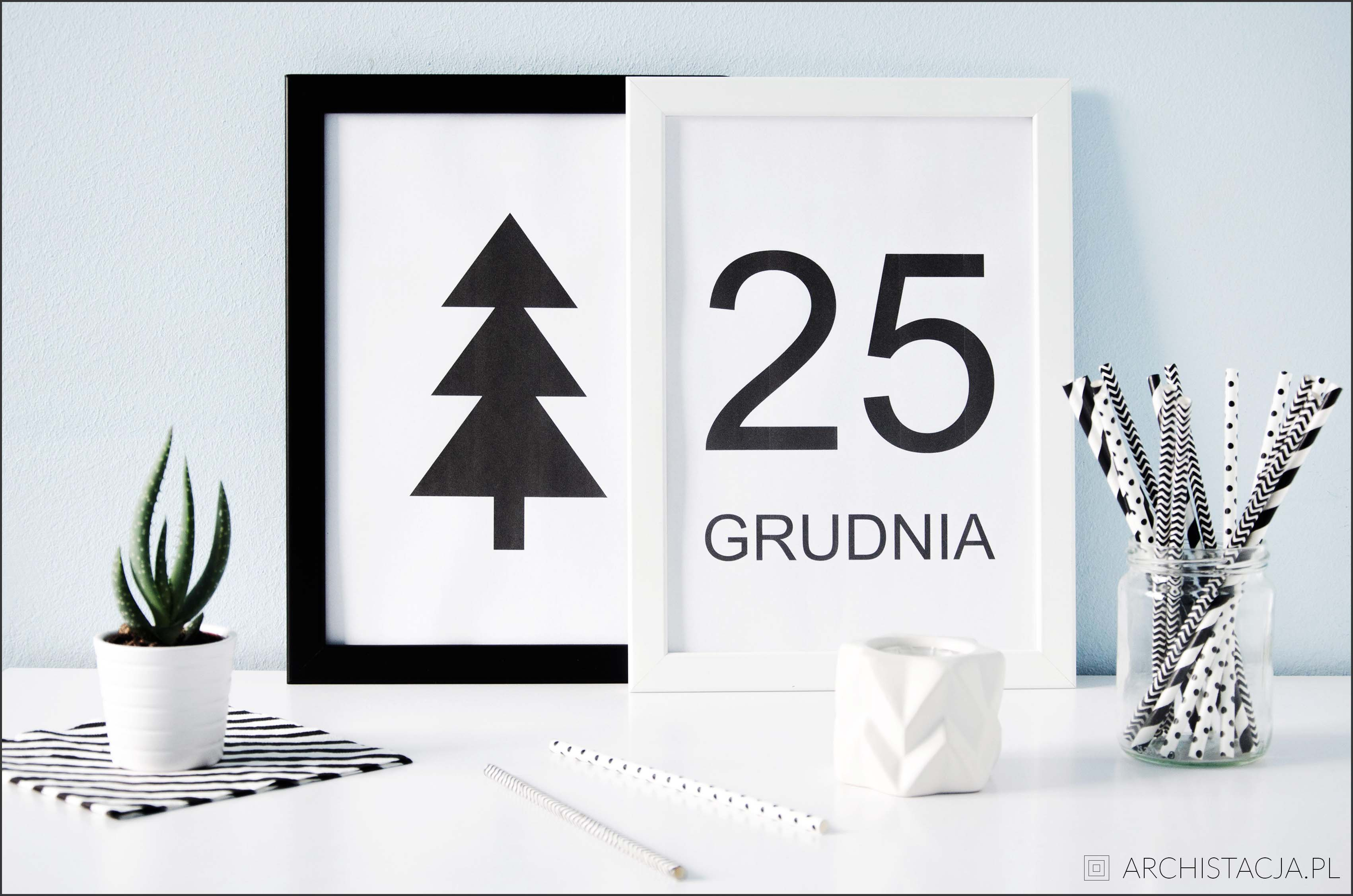plakaty świąteczne