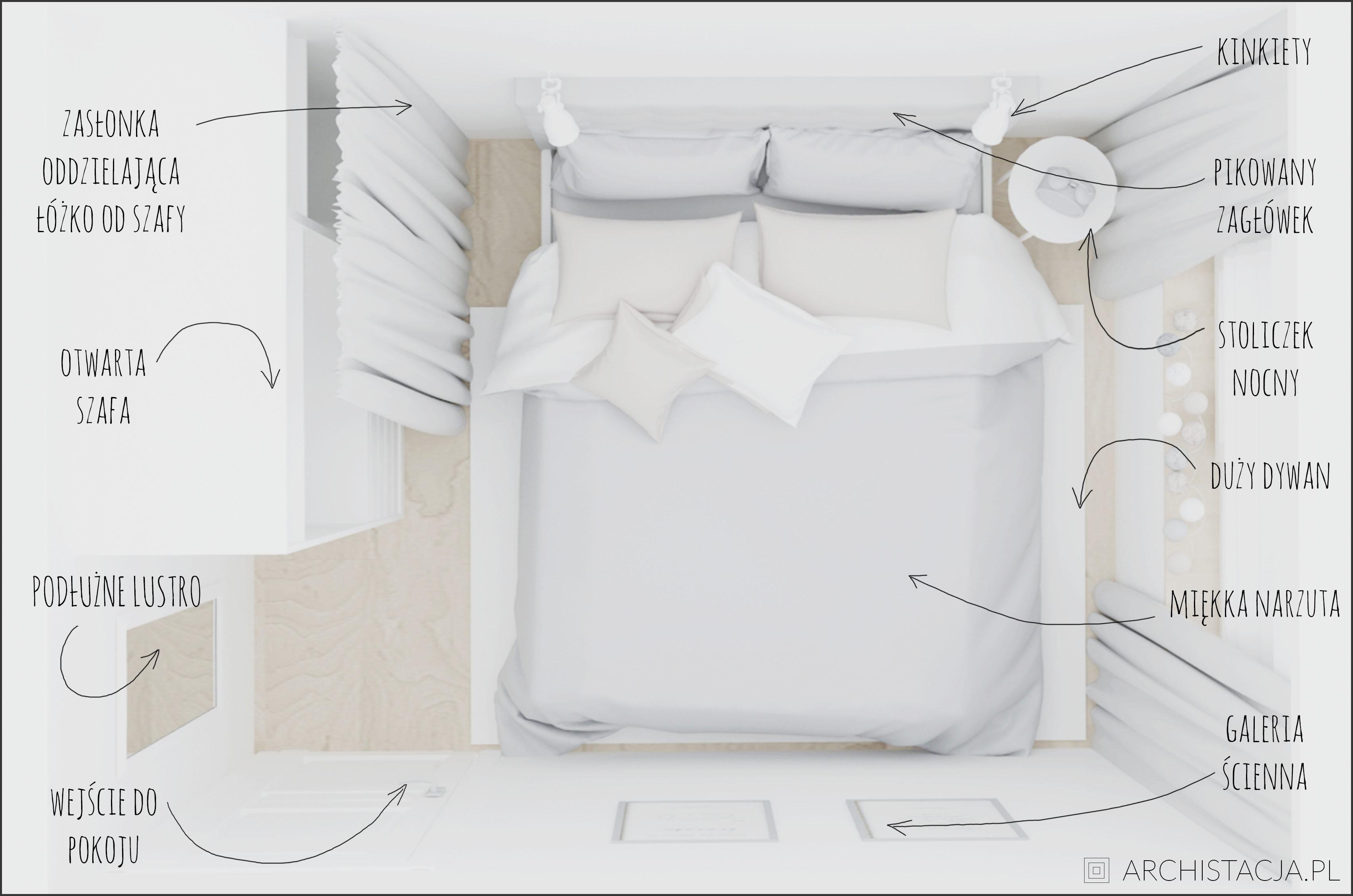 STACJA METAMORFOZA - mała sypialnia #12