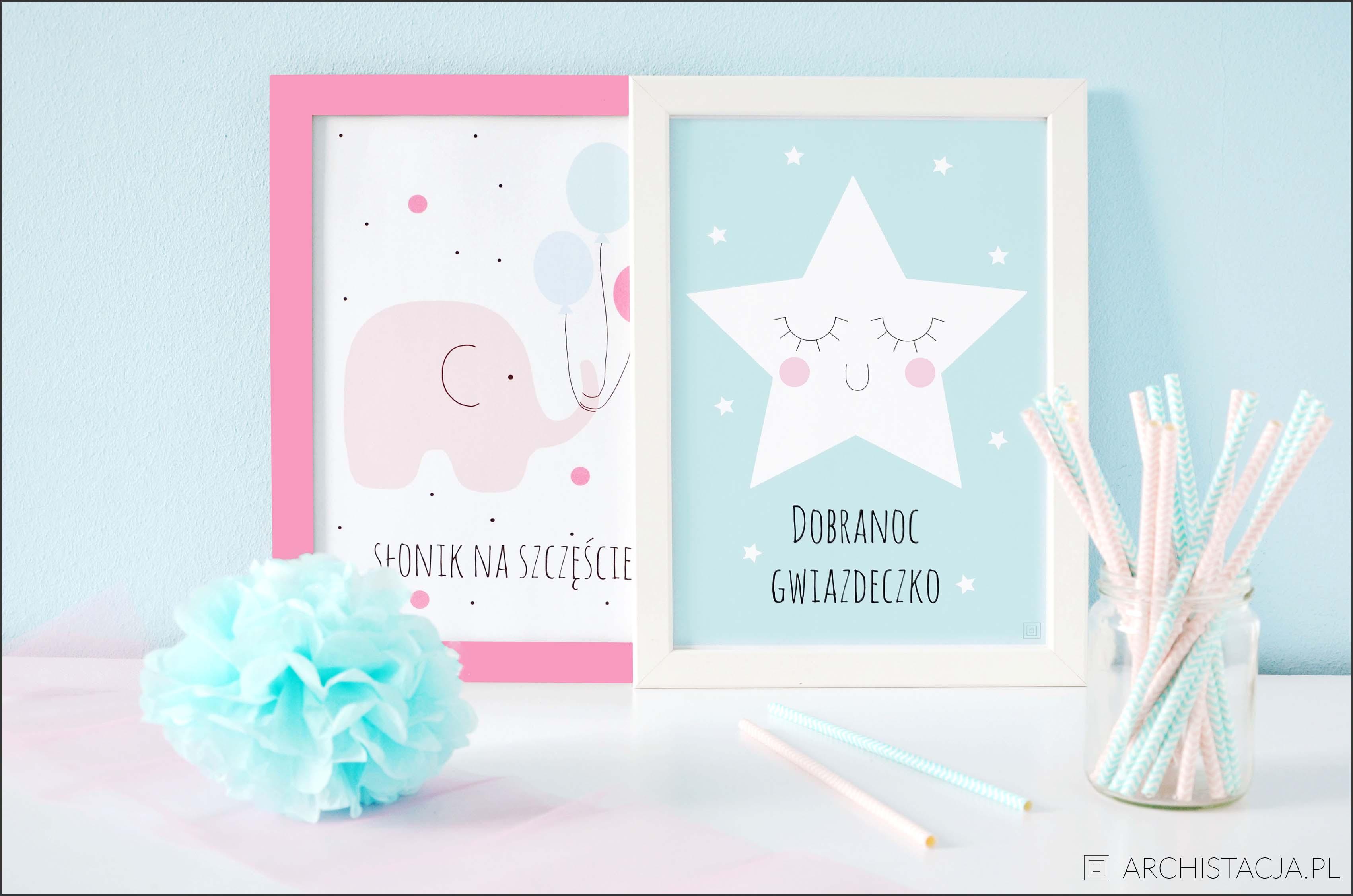 Plakaty Do Pokoju Dziecięcego Archistacjapl