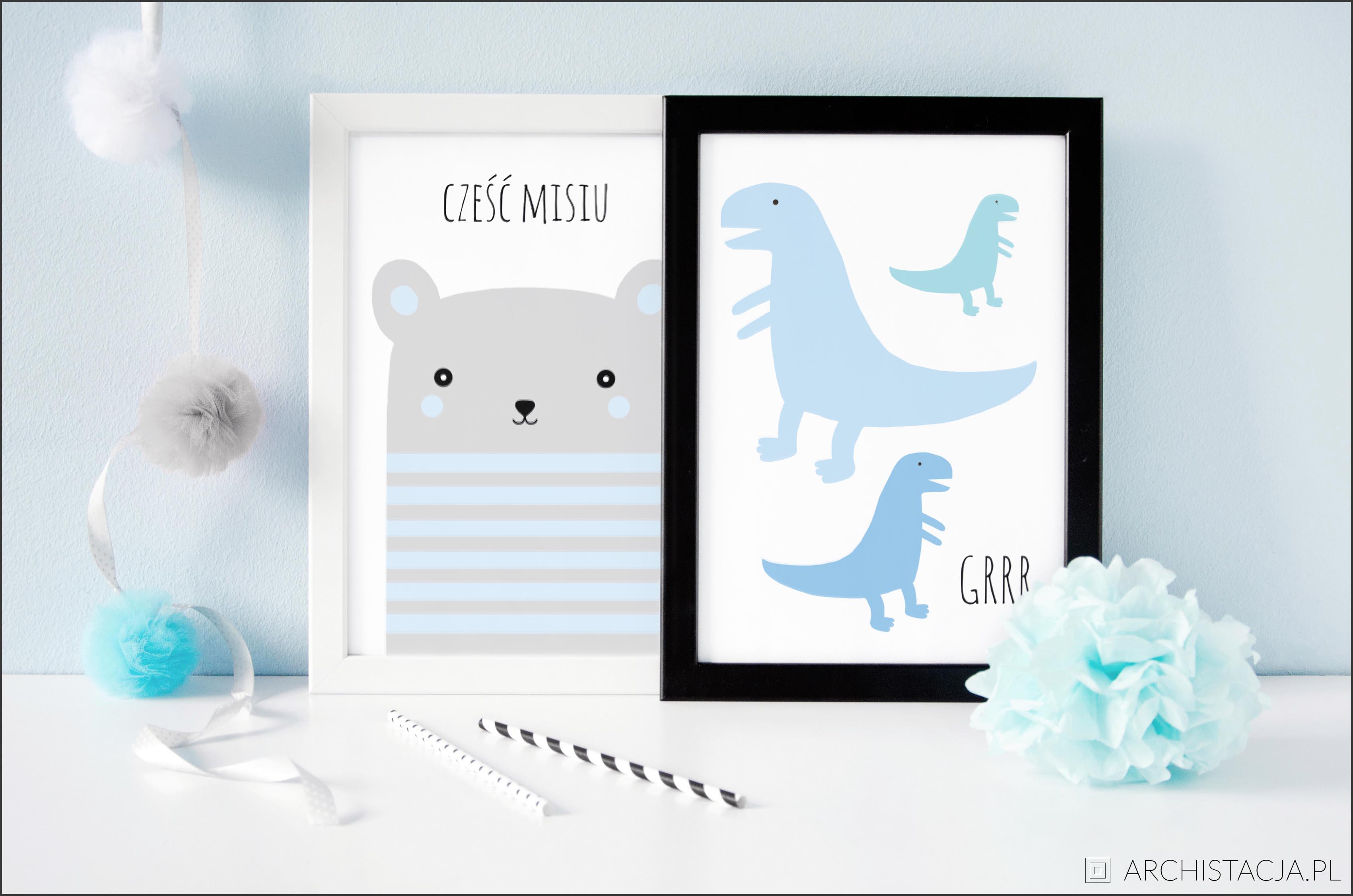 Pastelowe Plakaty Do Pokoju Chłopca Lifestyle Zblogowani