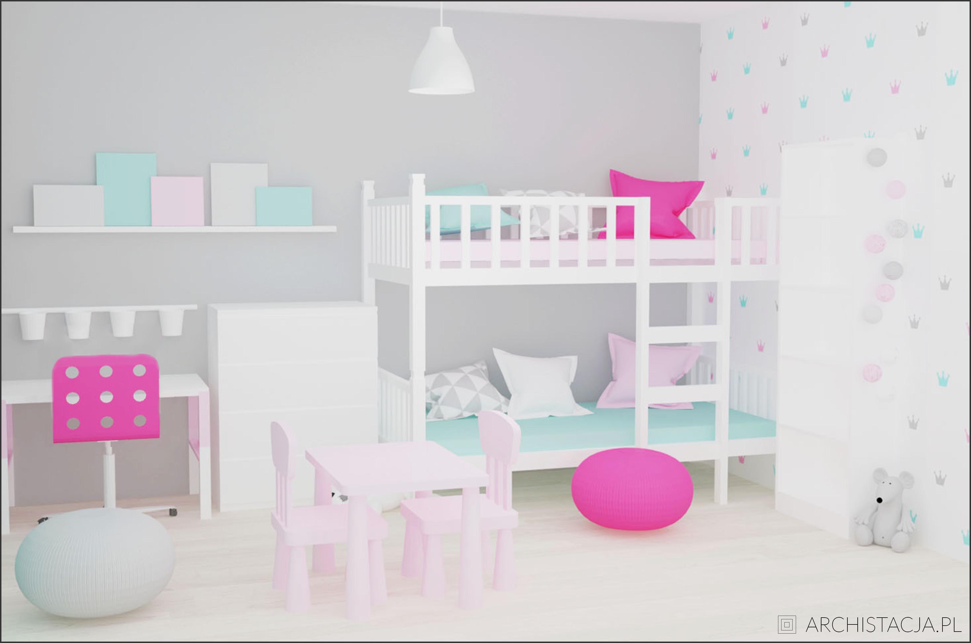 pokój dziewczynek