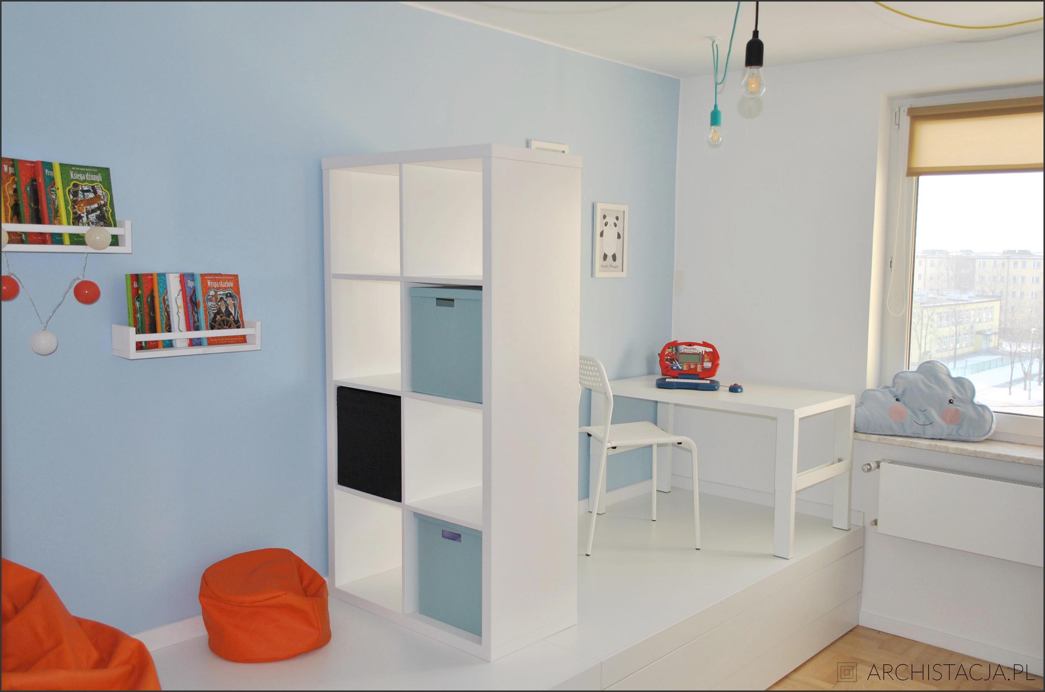podest w pokoju dziecięcym