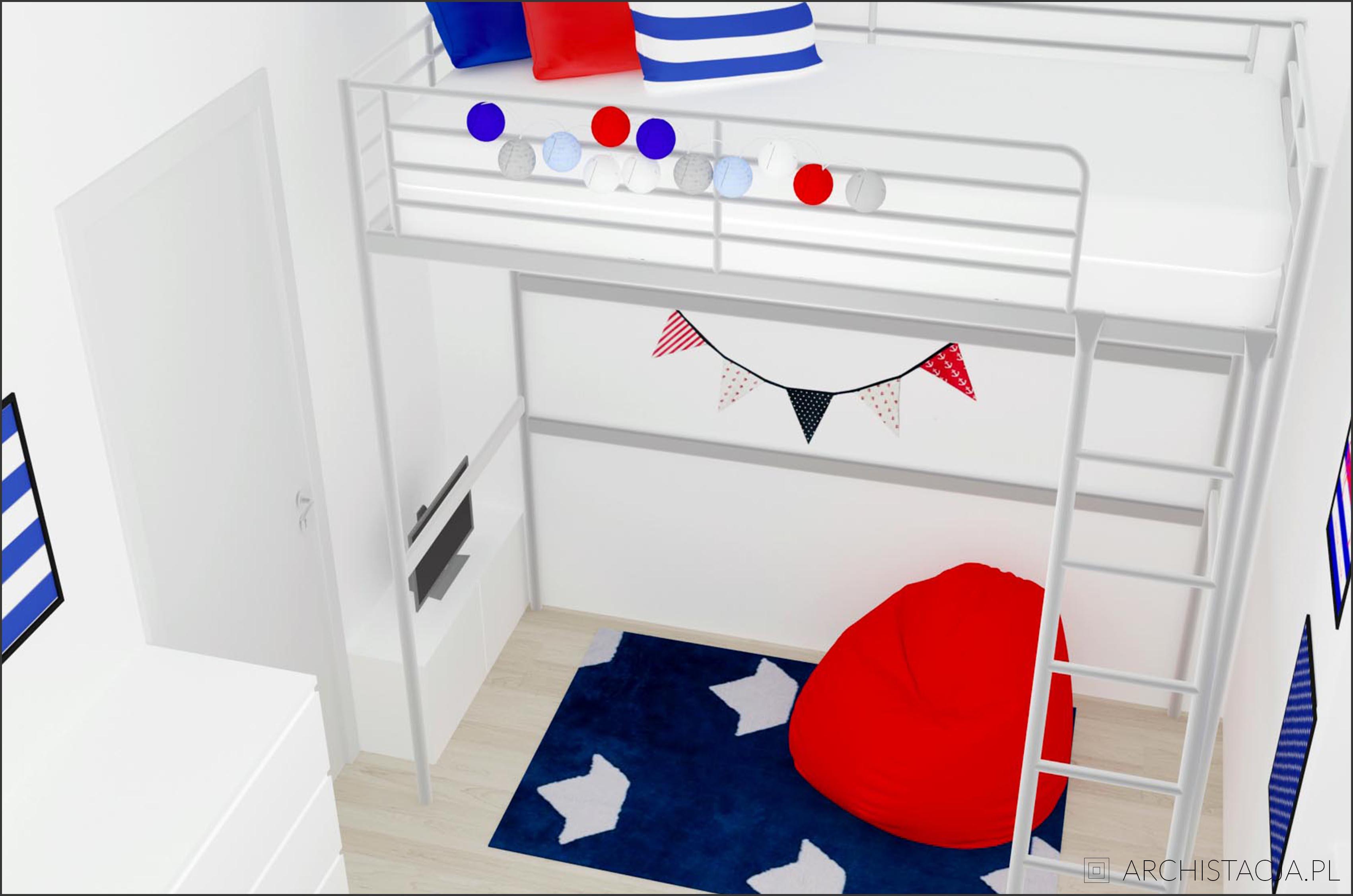 mały pokój dziecięcy