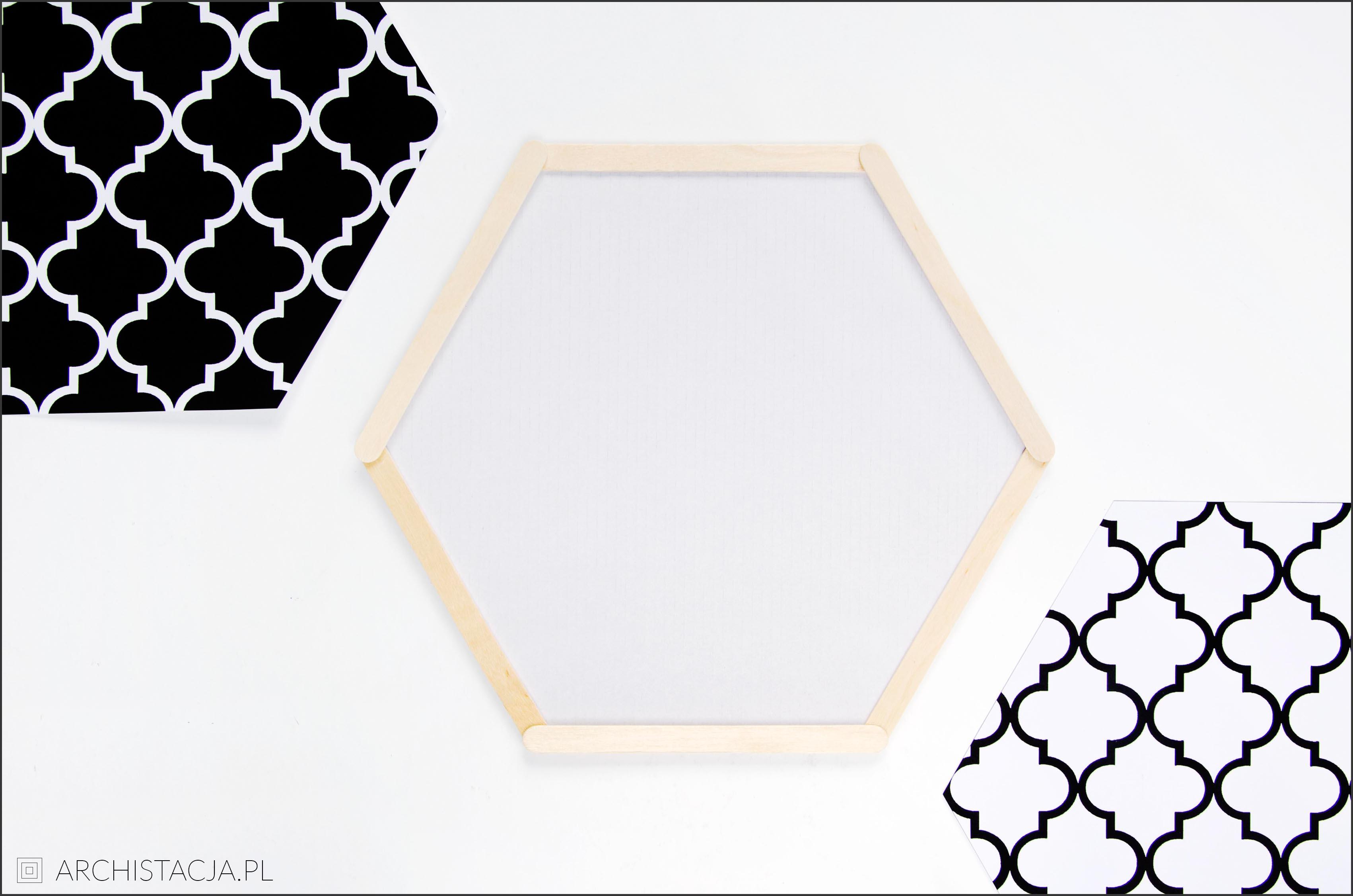 półka plaster miodu