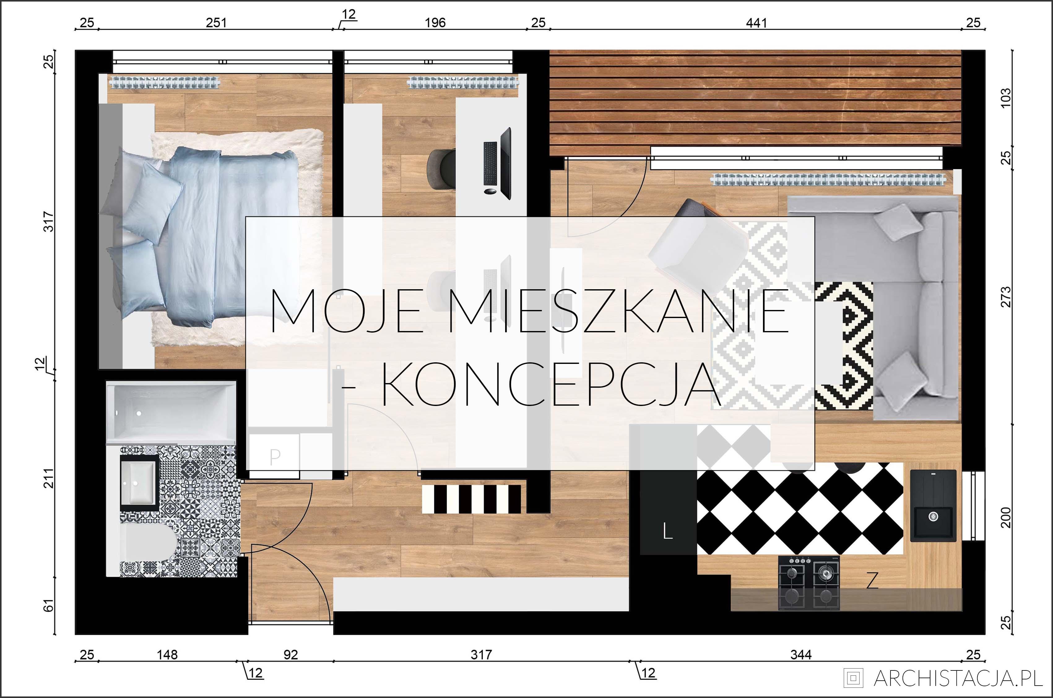 projekt mojego mieszkania