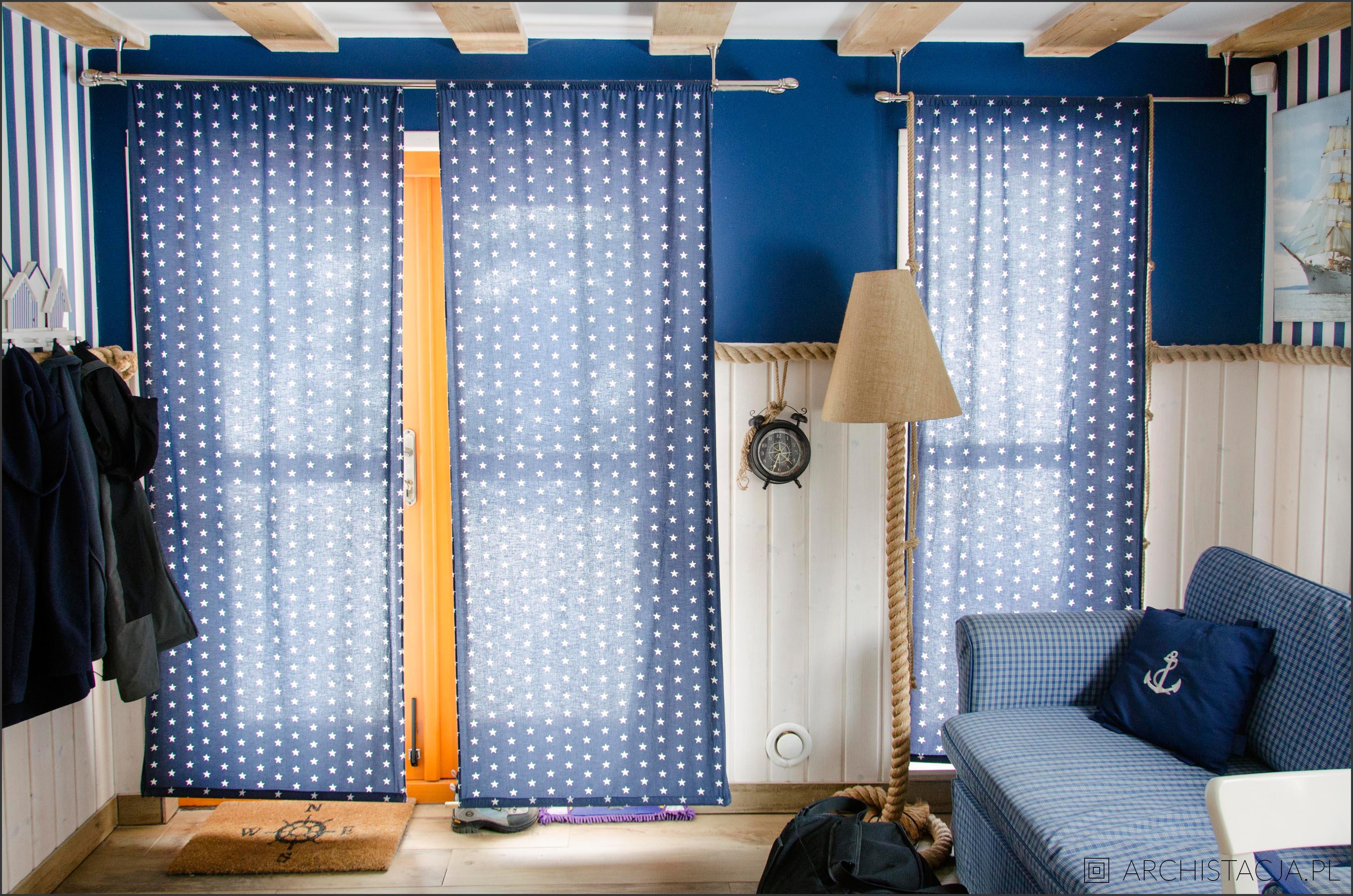 domek w stylu marynarskim