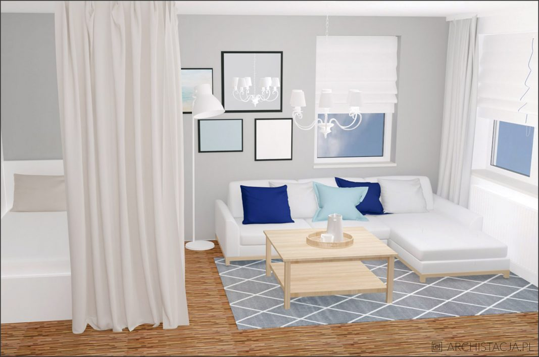 STACJA METAMORFOZA – salon z sypialnią #20
