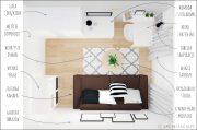 STACJA METAMORFOZA – pokój w stylu minimalistycznym #21