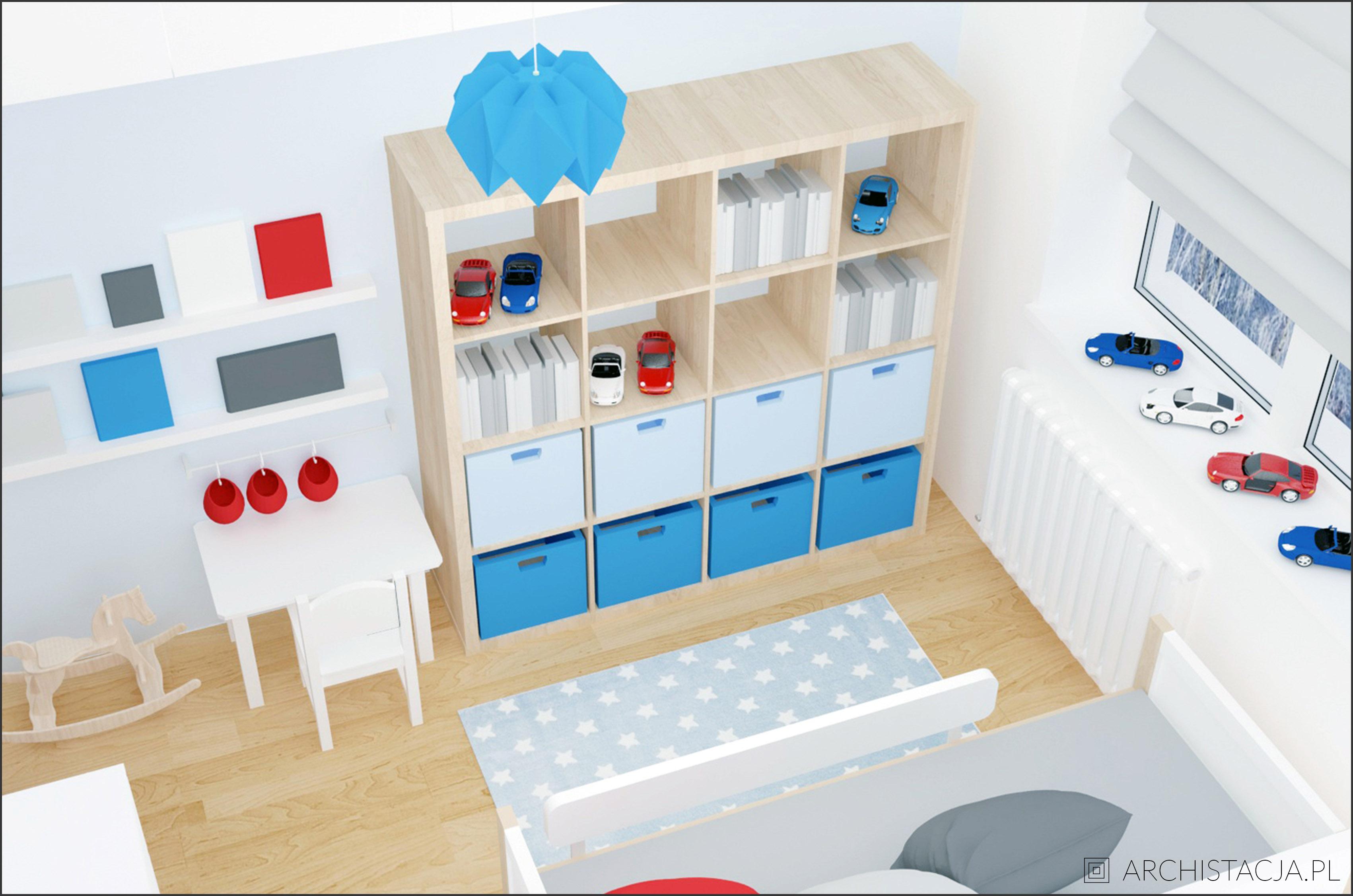 mały pokój chłopca