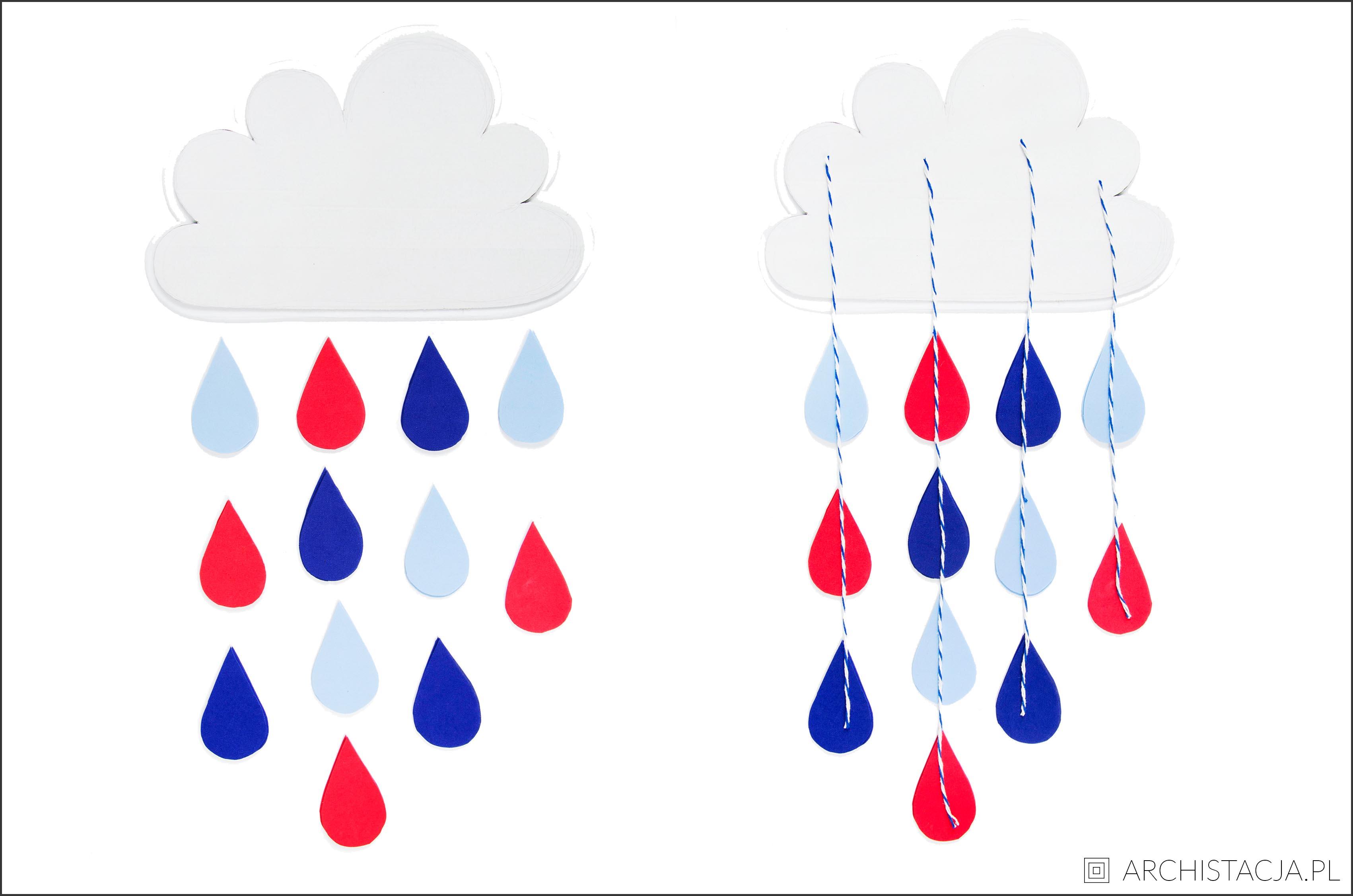 dekoracja chmurka