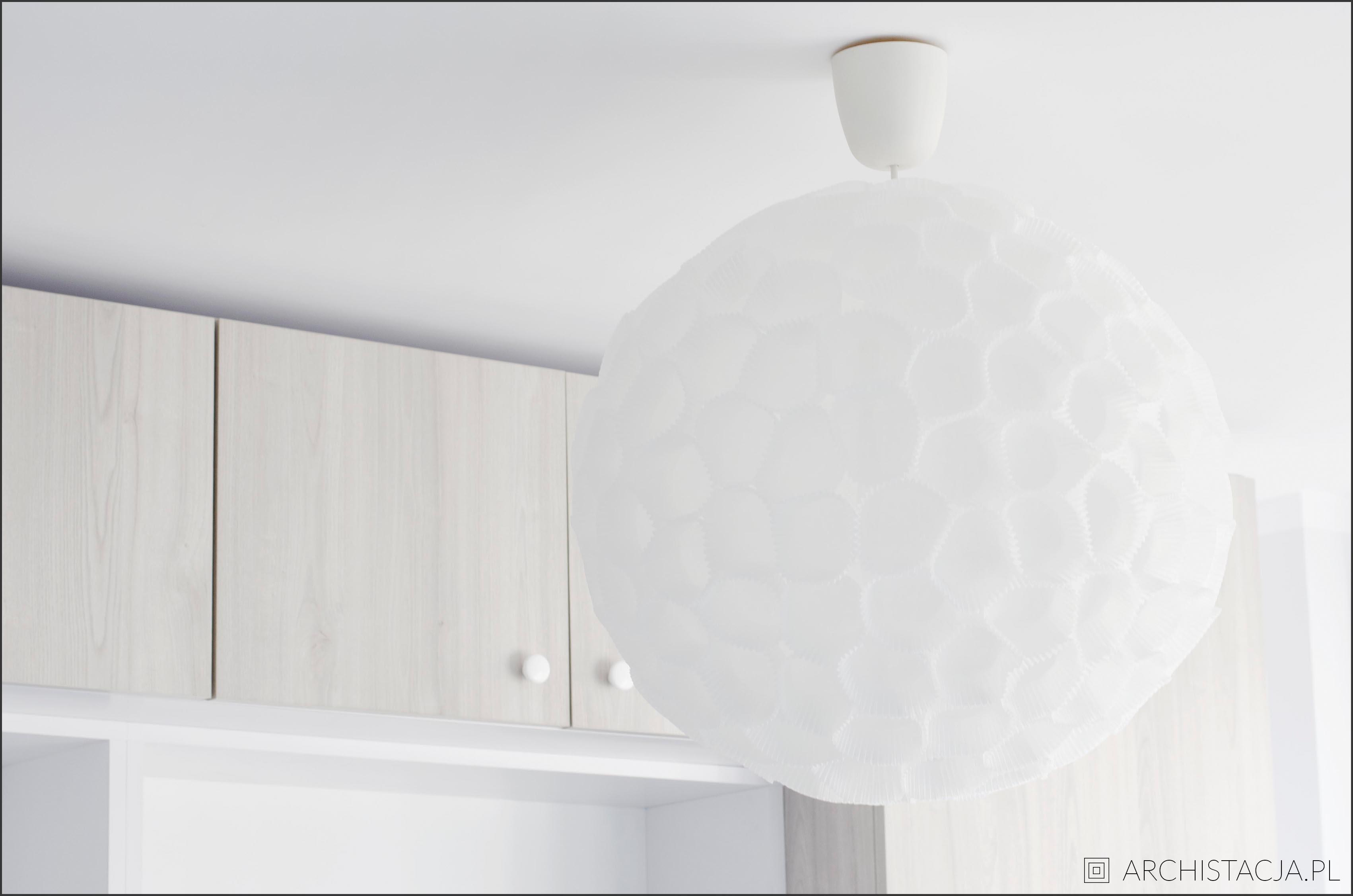 LAMPA Z PAPILOTEK DO BABECZEK DIY