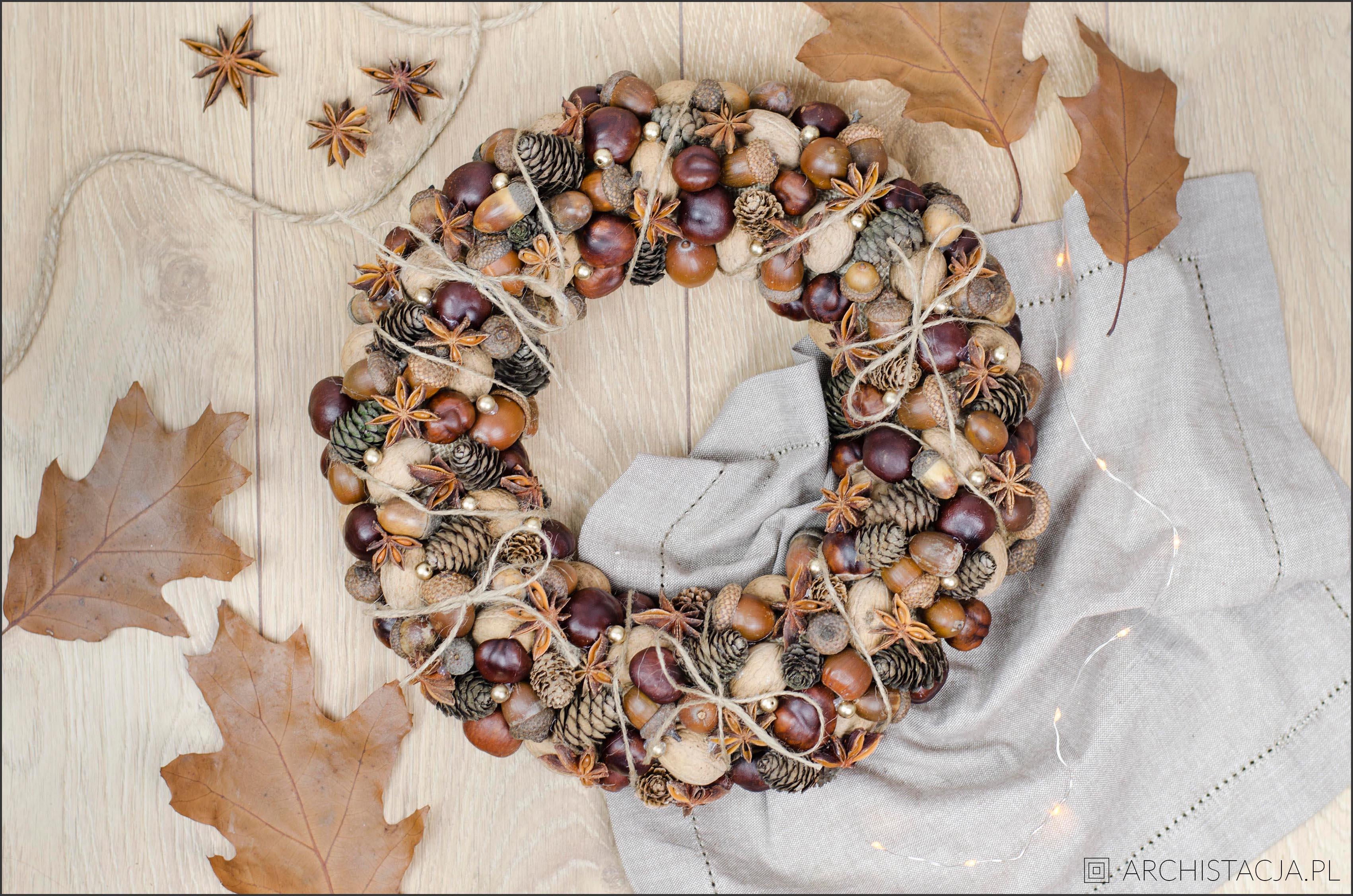 jesienny wianek