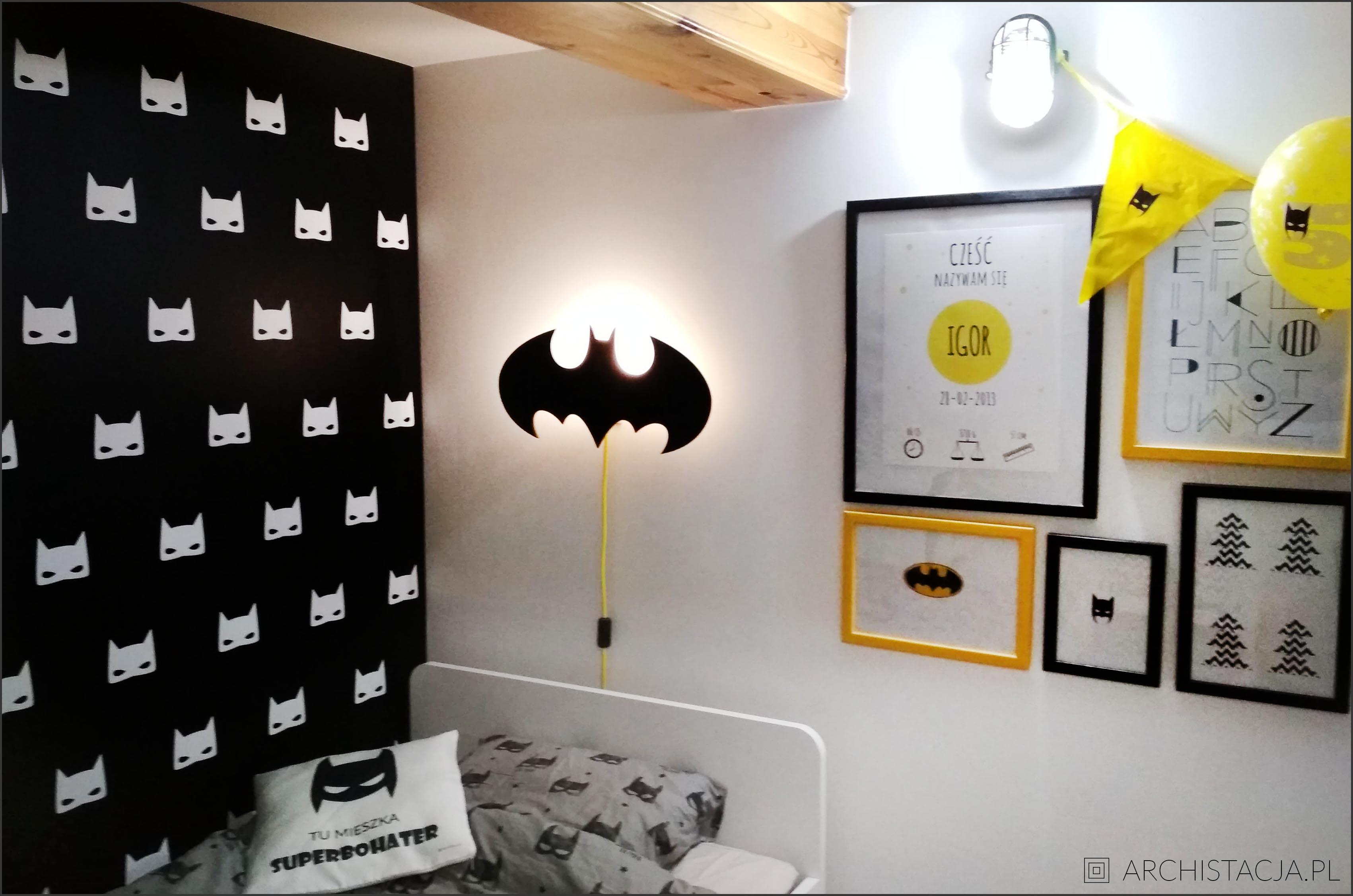 pokój superbohatera