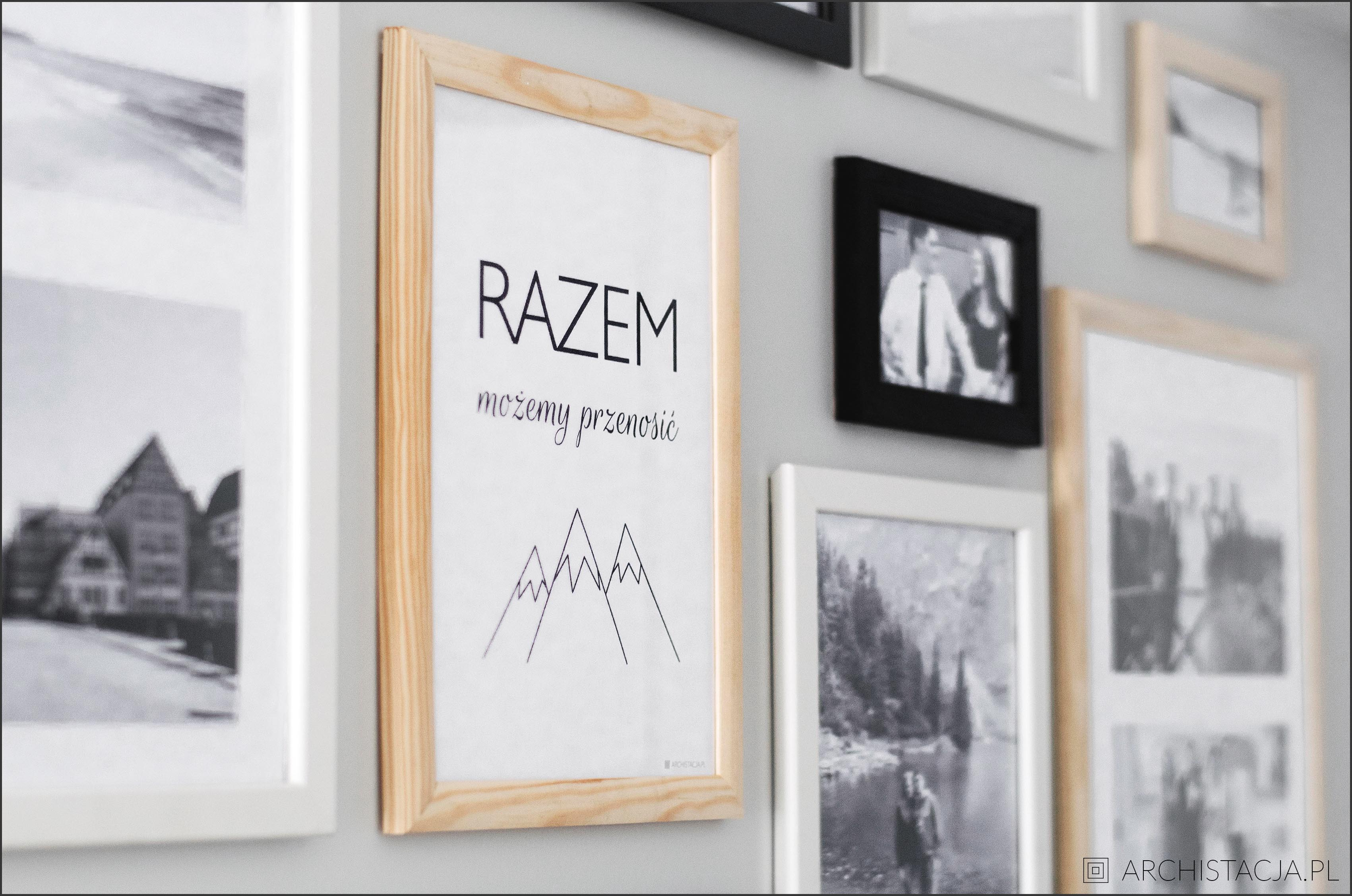 galeria w przedpokoju