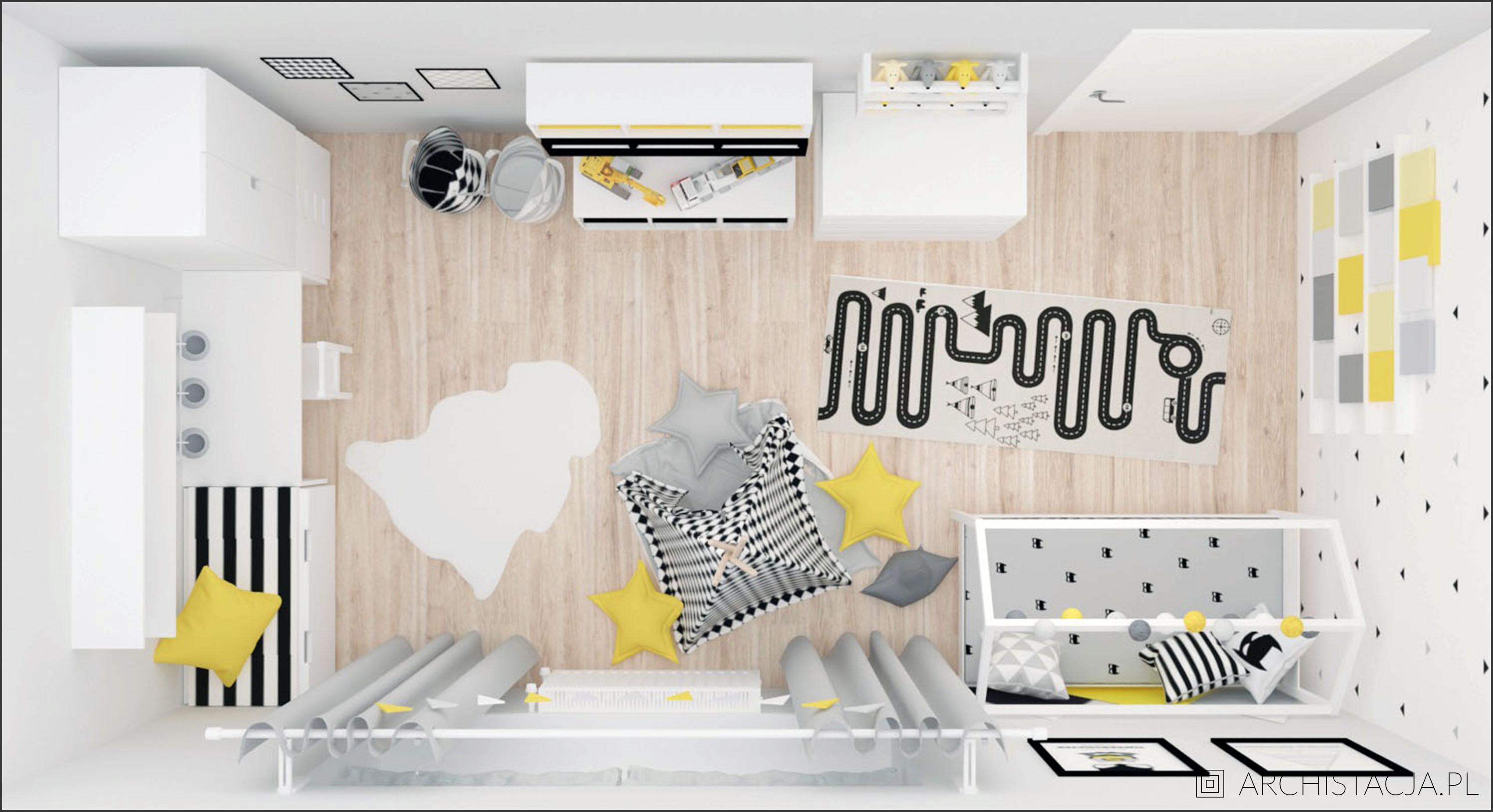 nowoczesny pokój chłopca
