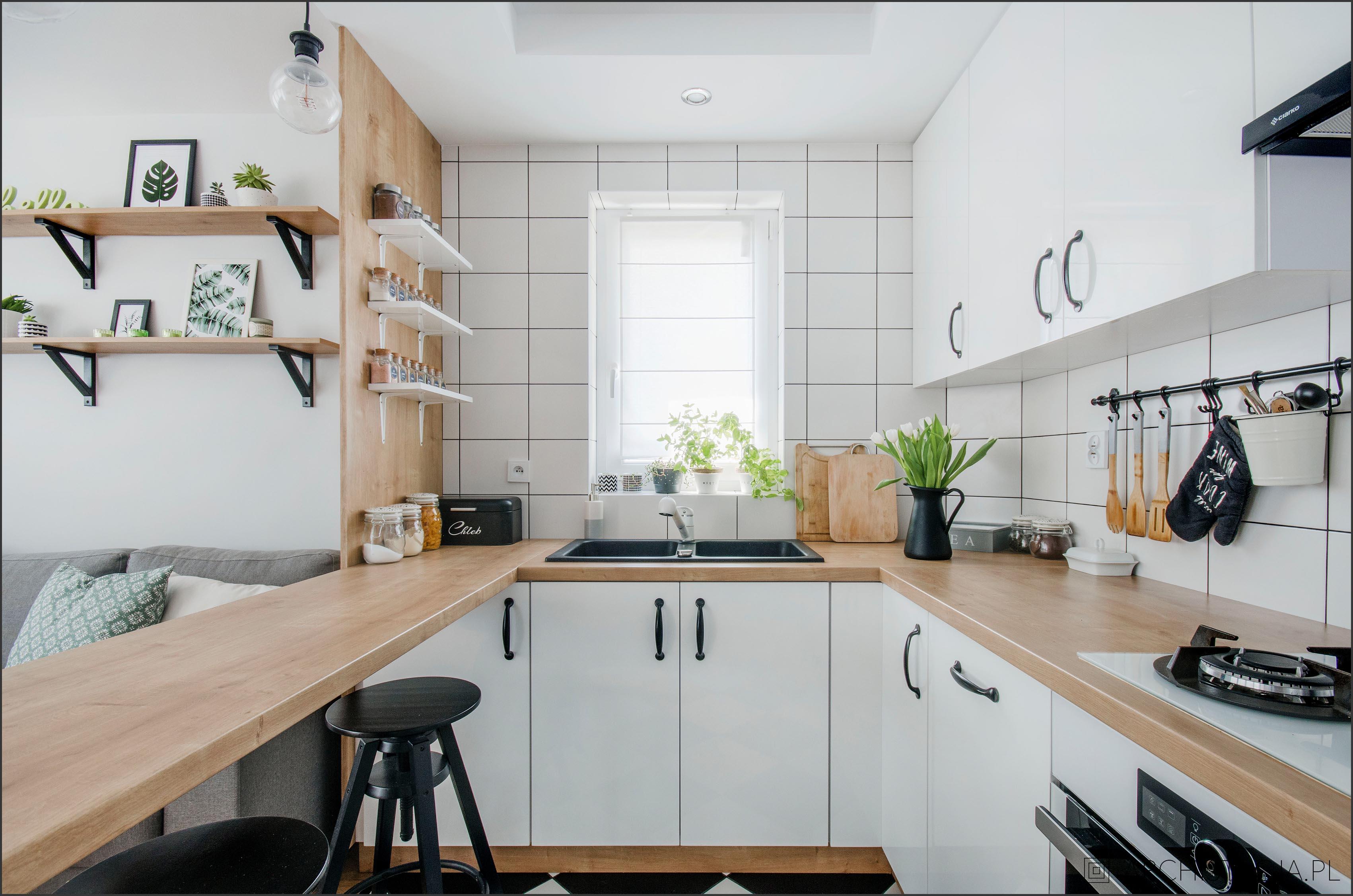 Salon Z Kuchnią W Bloku Metamorfoza Archistacjapl