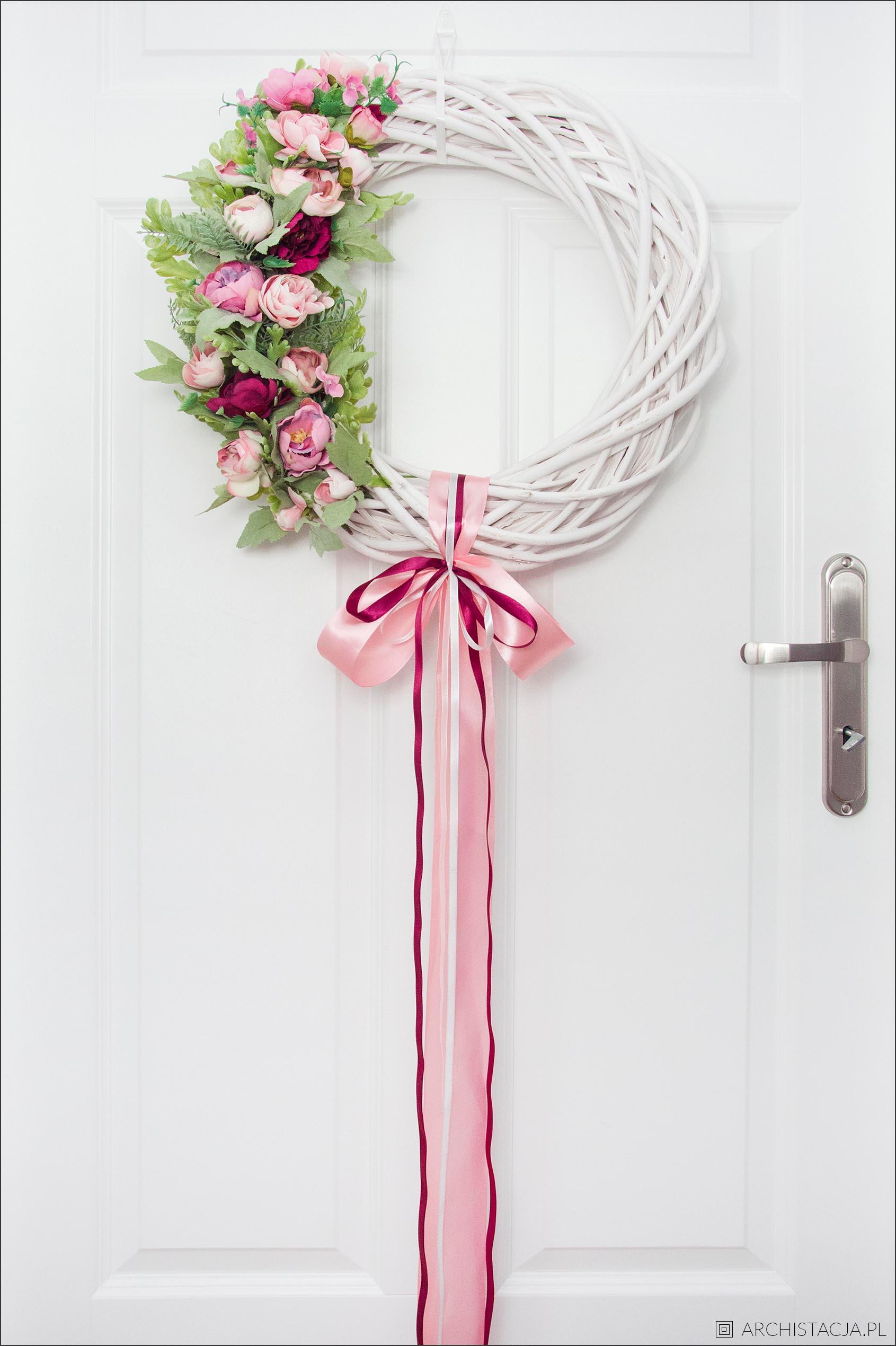 wianek na drzwi