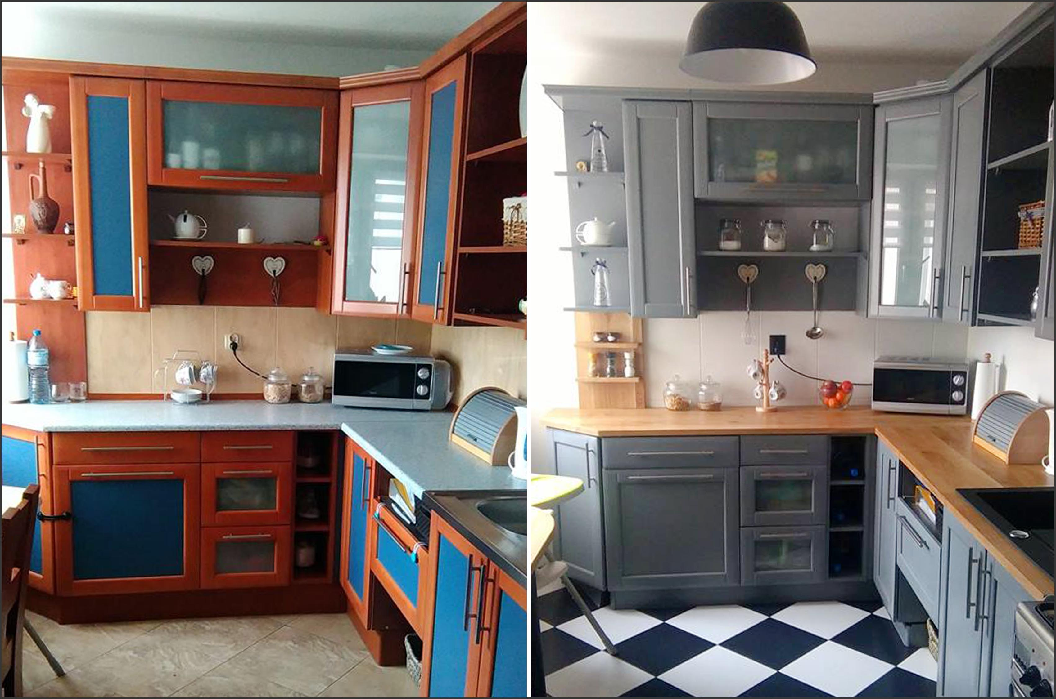 Jak szybko i tanio odmienić kuchnię? - malujemy meble kuchenne