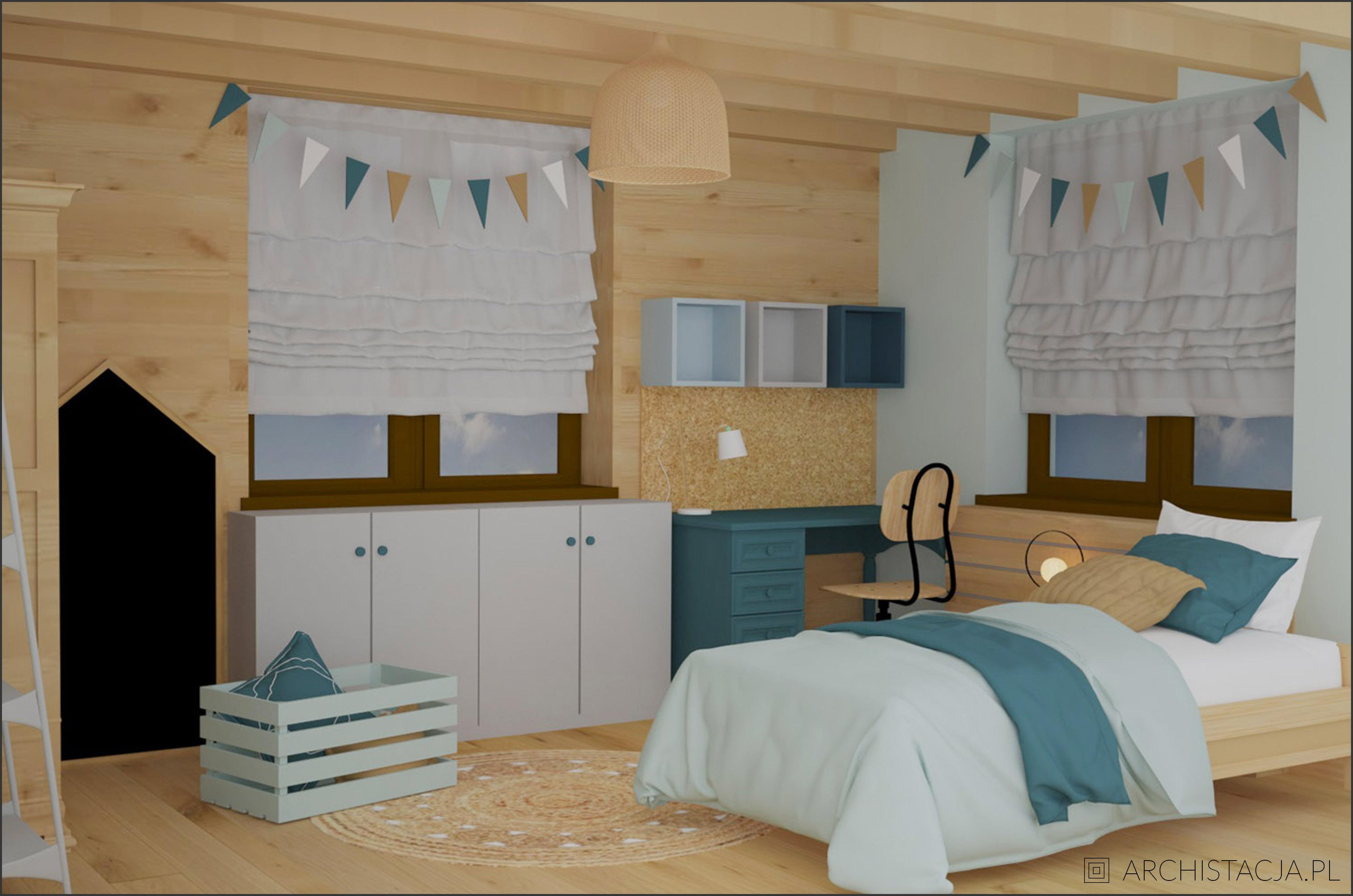 leśny pokój