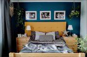 TURKUSOWA ŚCIANA – konkretne farby, inspiracje i zdjęcia