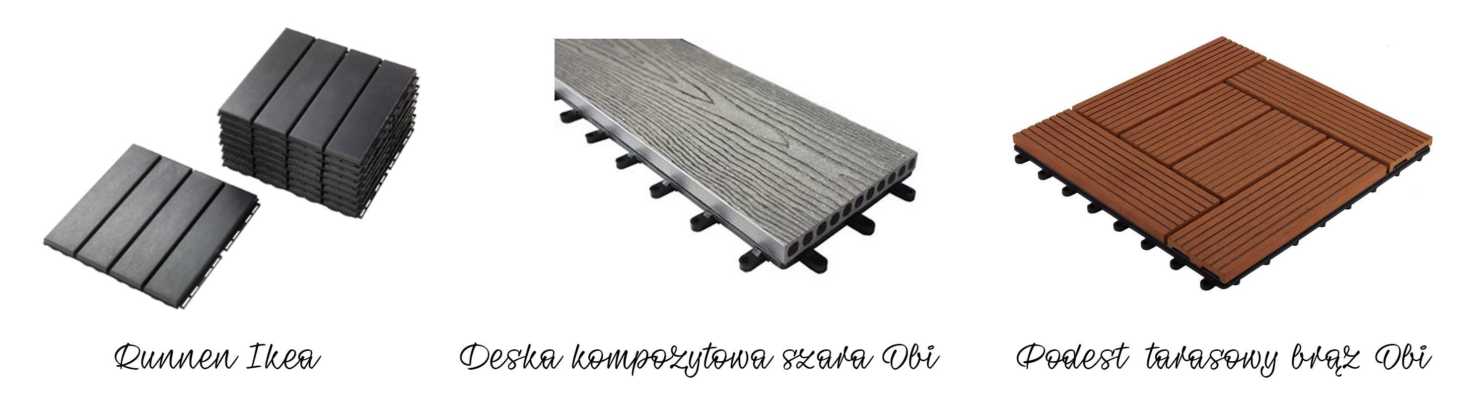 Aranżacja Balkonu Podłoga ściany Osłona Barierki