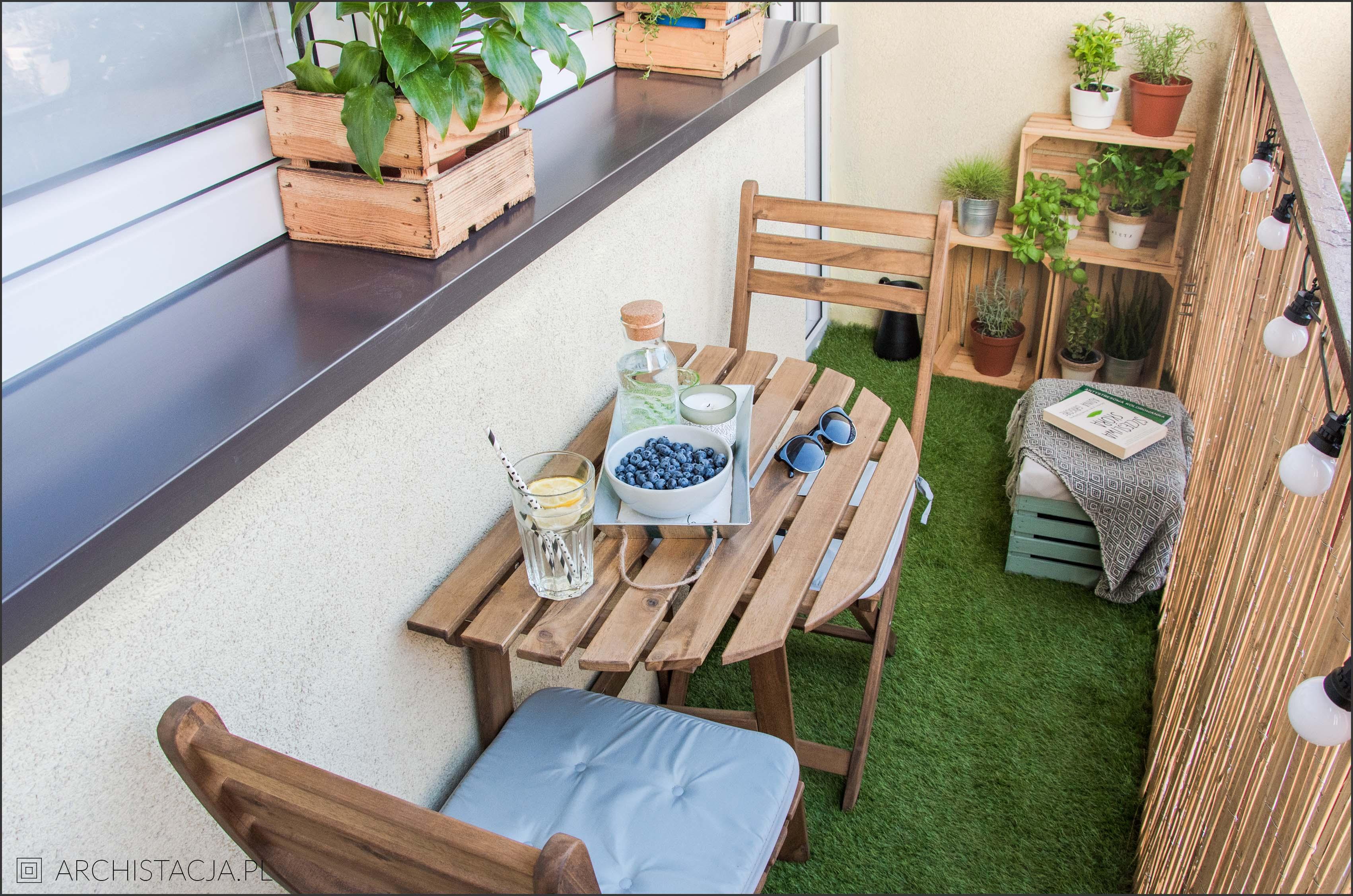 Mały Balkon Meble Do Zadań Specjalnych Archistacjapl