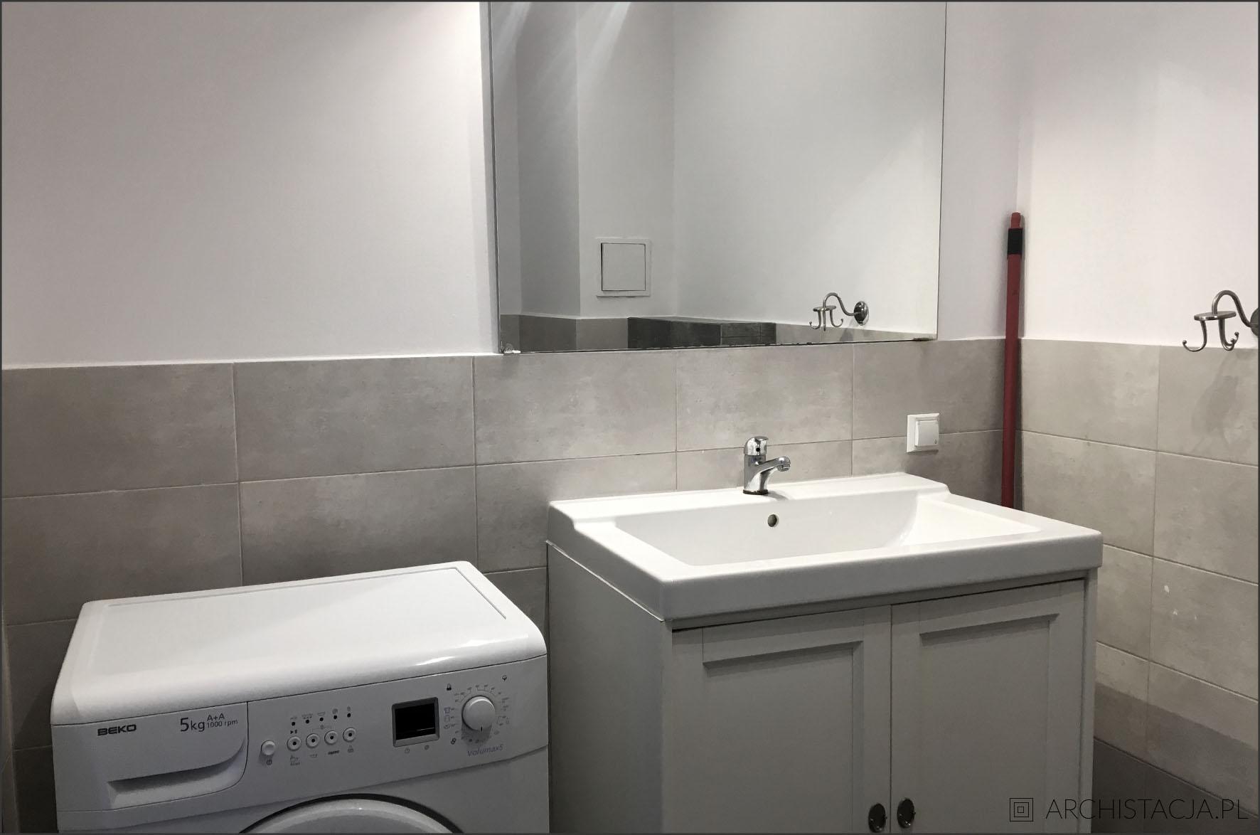 łazienka W Stylu Skandynawskim Archistacjapl