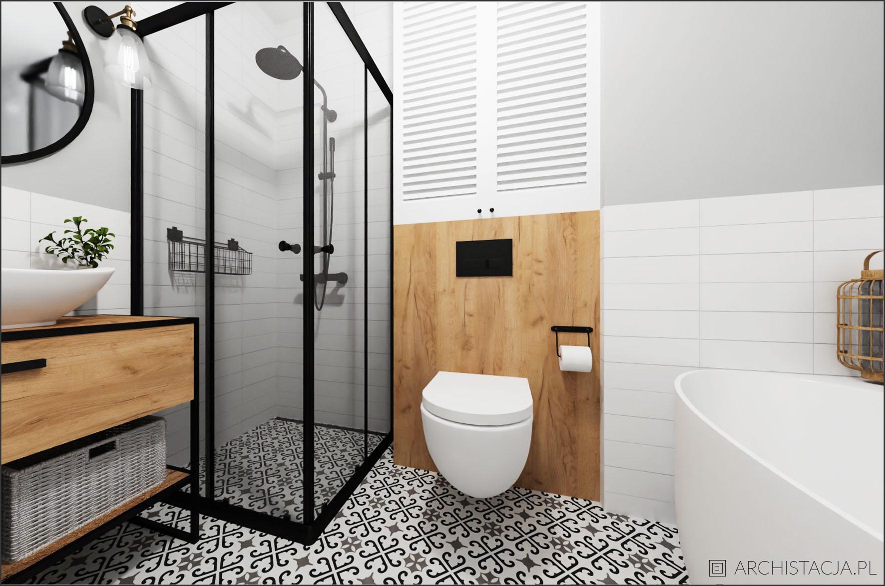 MIESZKANIE POD LUPĄ - łazienka idealna