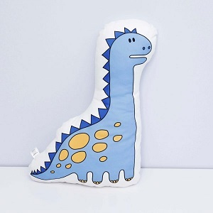 dinozaur niebieski