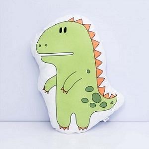 zielony dinozaur