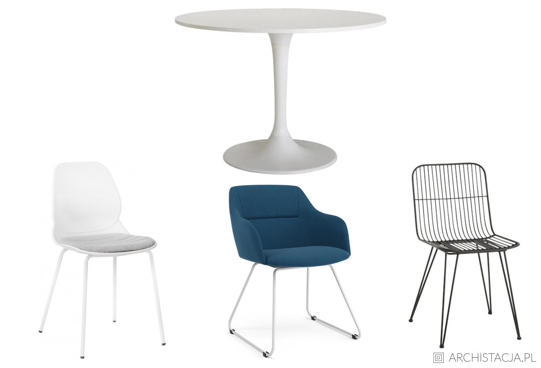 Jak dobrać krzesła do stołu? Porady, przykłady, inspiracje