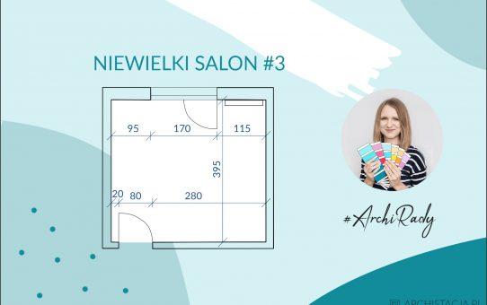 #ArchiRady - niewielki salon #3
