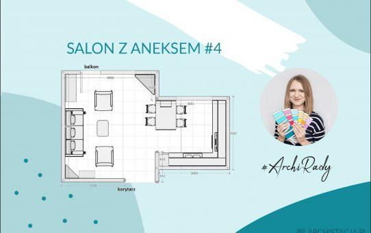 #ArchiRady – salon z aneksem #4