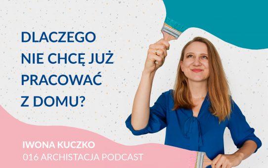 Podcast 016: Dlaczego nie chcę już pracować z domu?